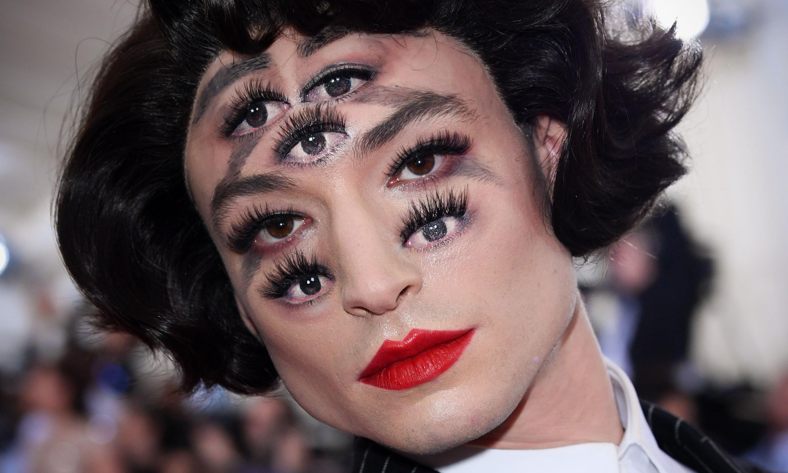 Another pair of eyes: how makeup artist Mimi Choi created Ezra Miller's Met Gala look