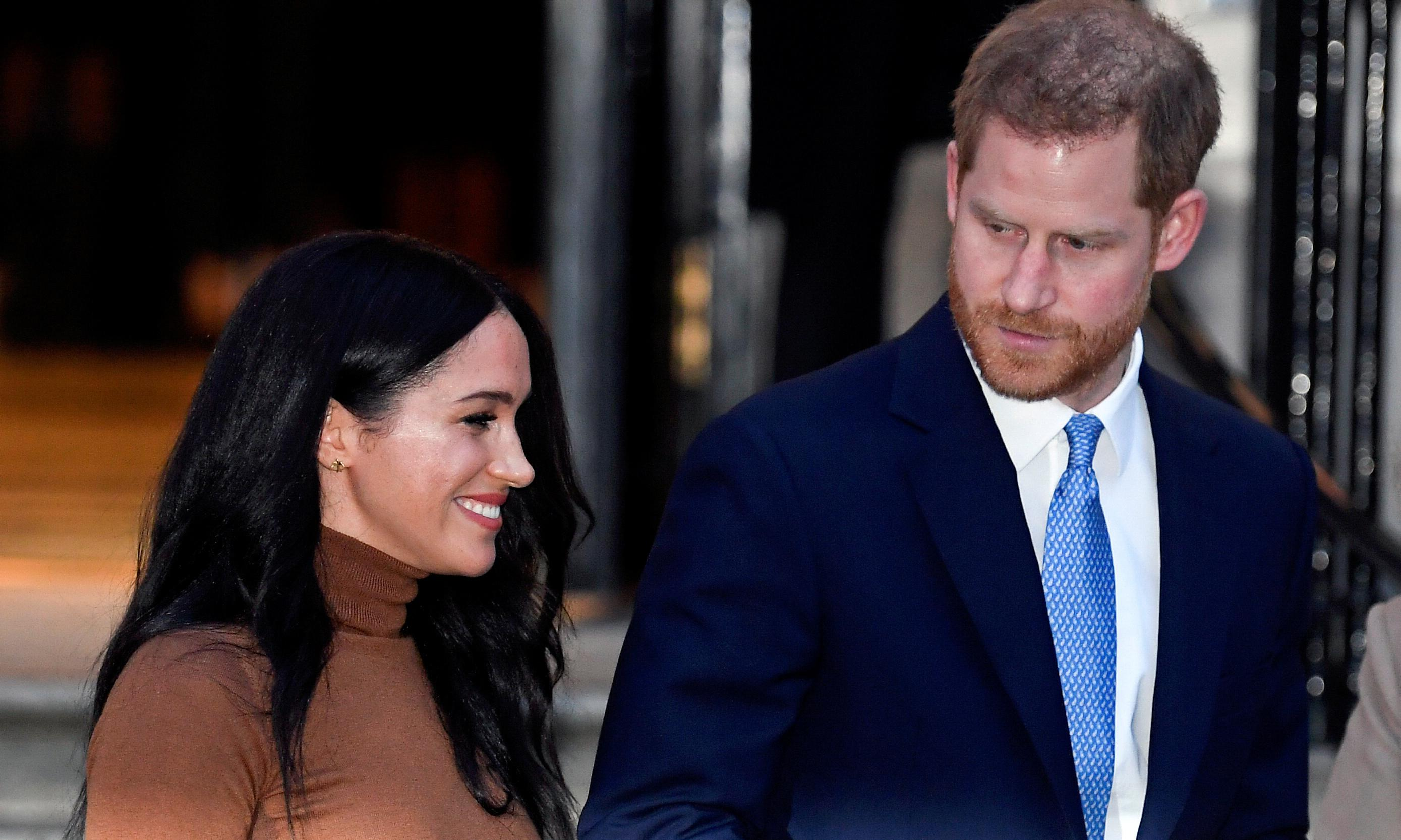 Harry and Meghan to split from royal family on 31 March