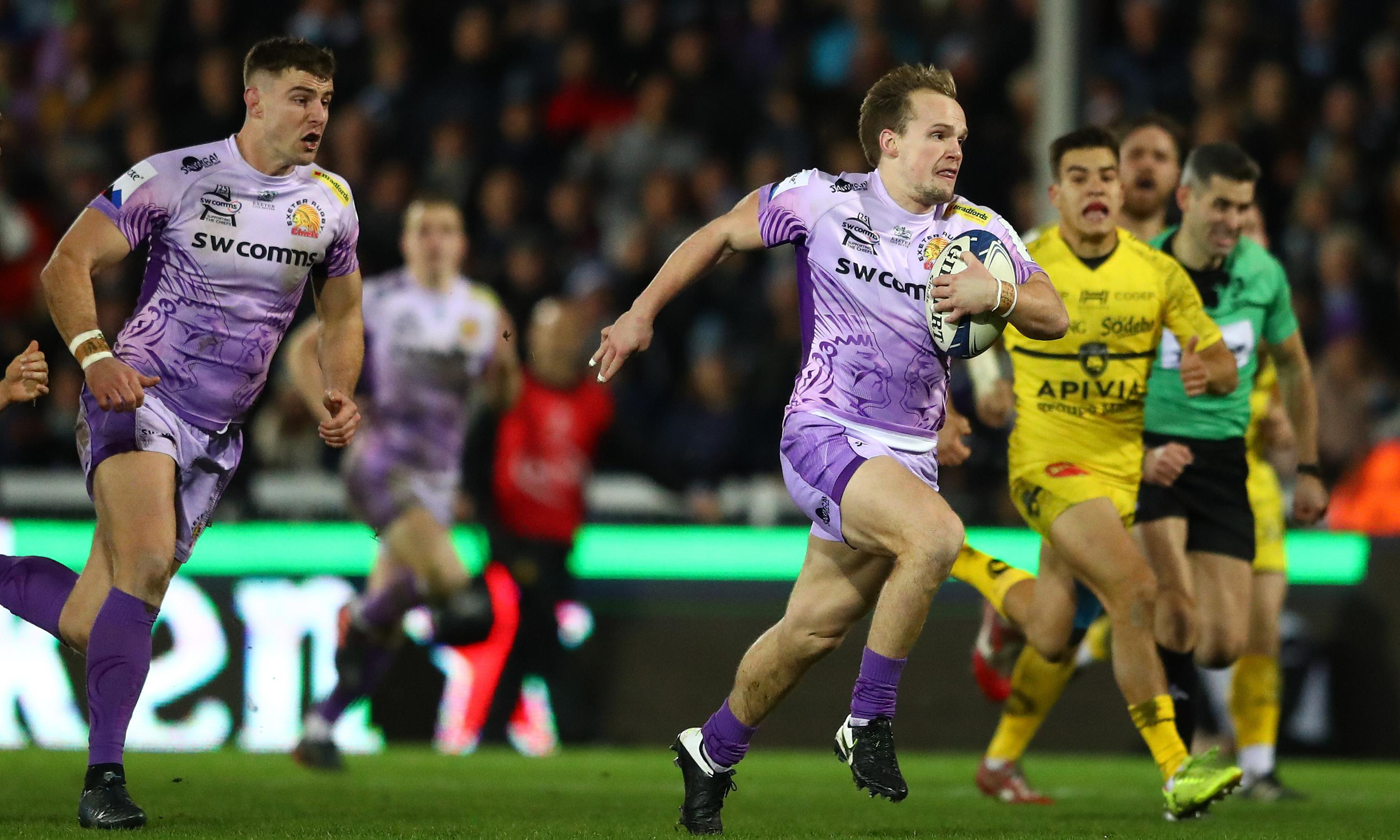 Exeter could face Saracens after Sam Simmonds punishes La Rochelle