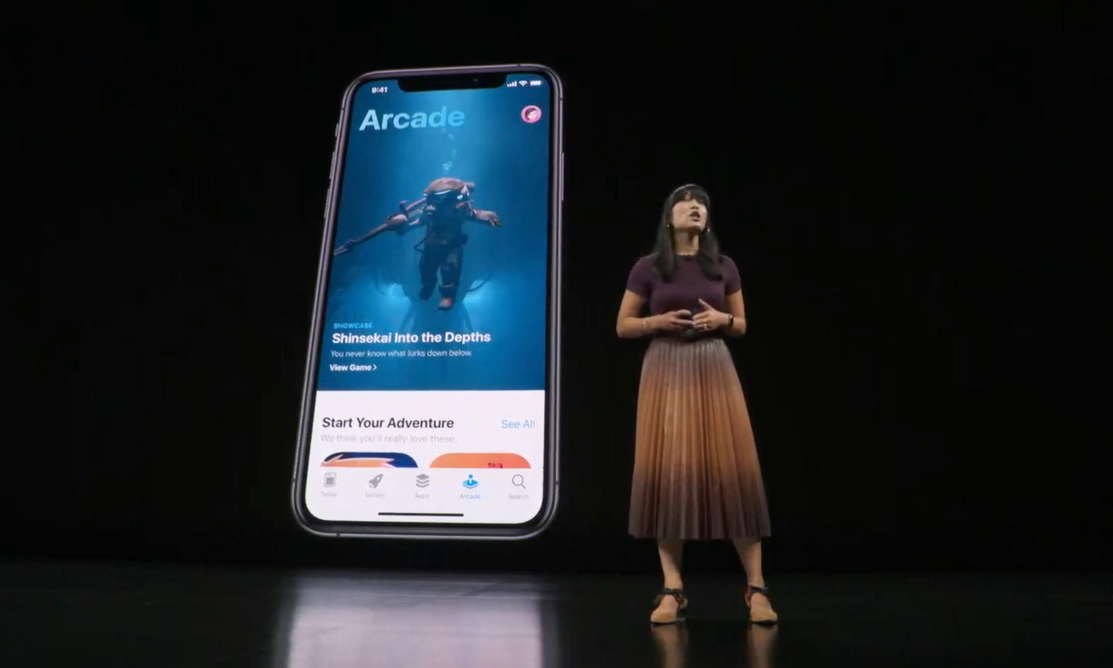Apple Arcade: game streaming service will cost £4.99 a month