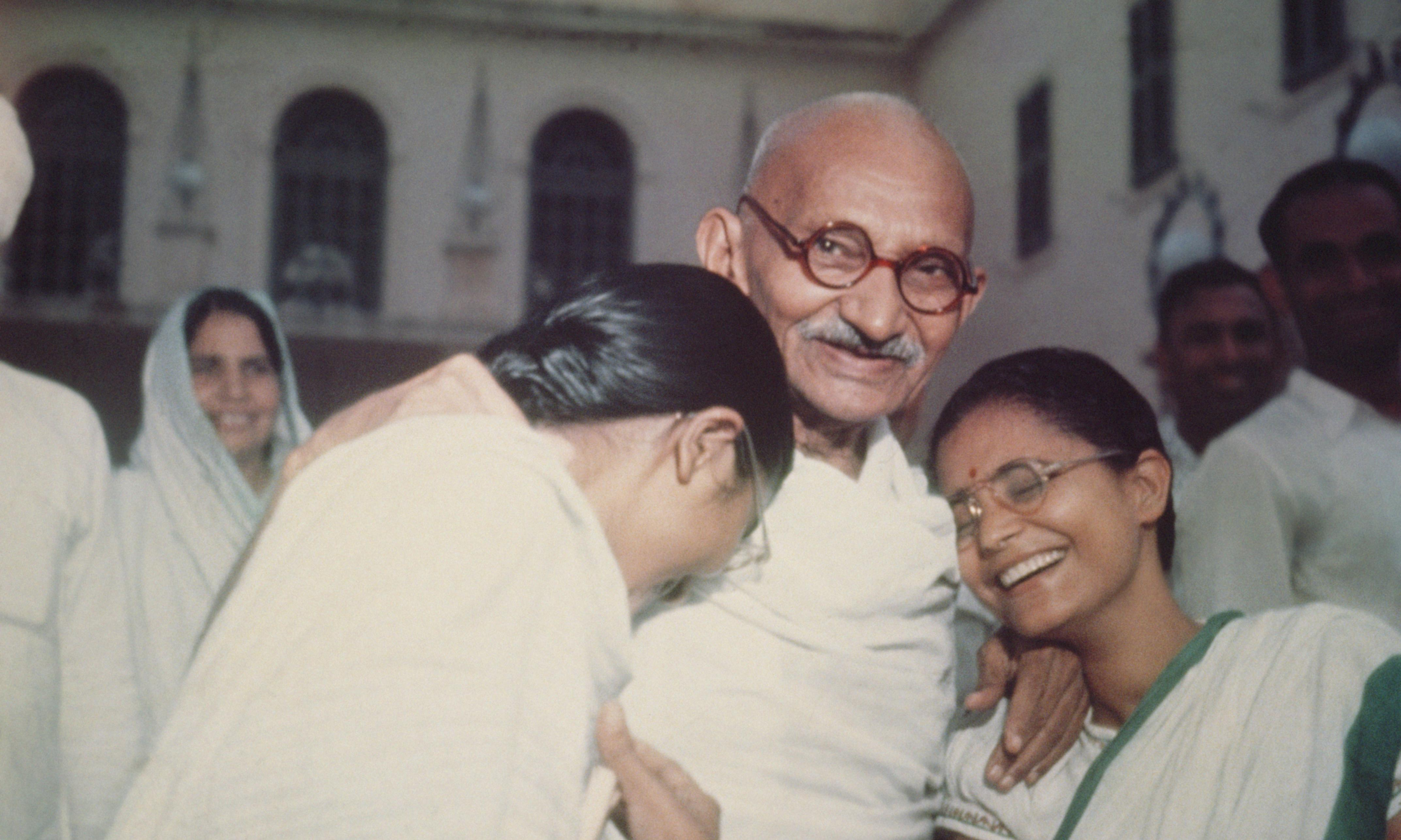 How would Gandhi's celibacy tests with naked women be seen today?