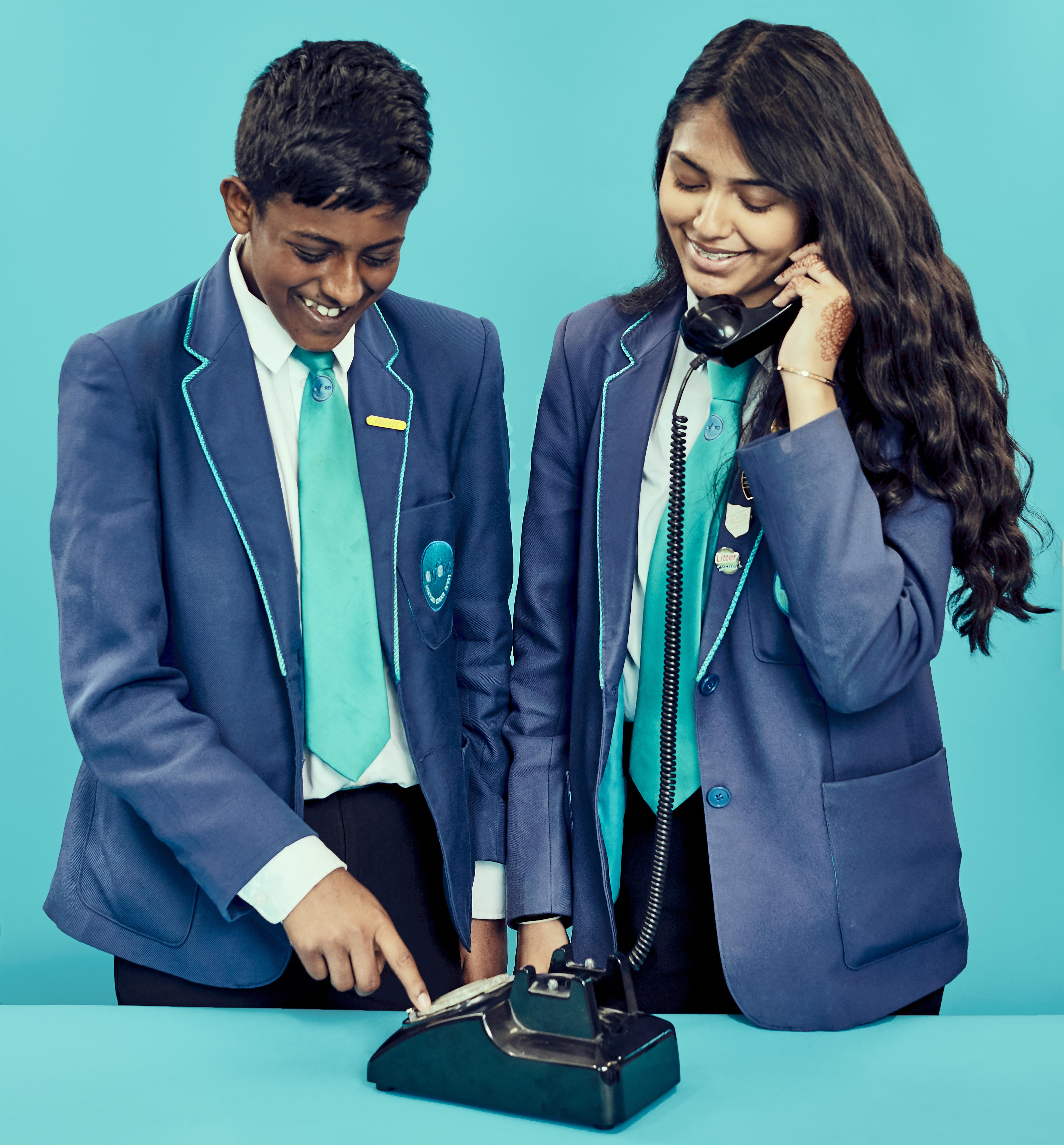'Do you wind it up?': today's teens tackle rotary phones, FM radio and map reading