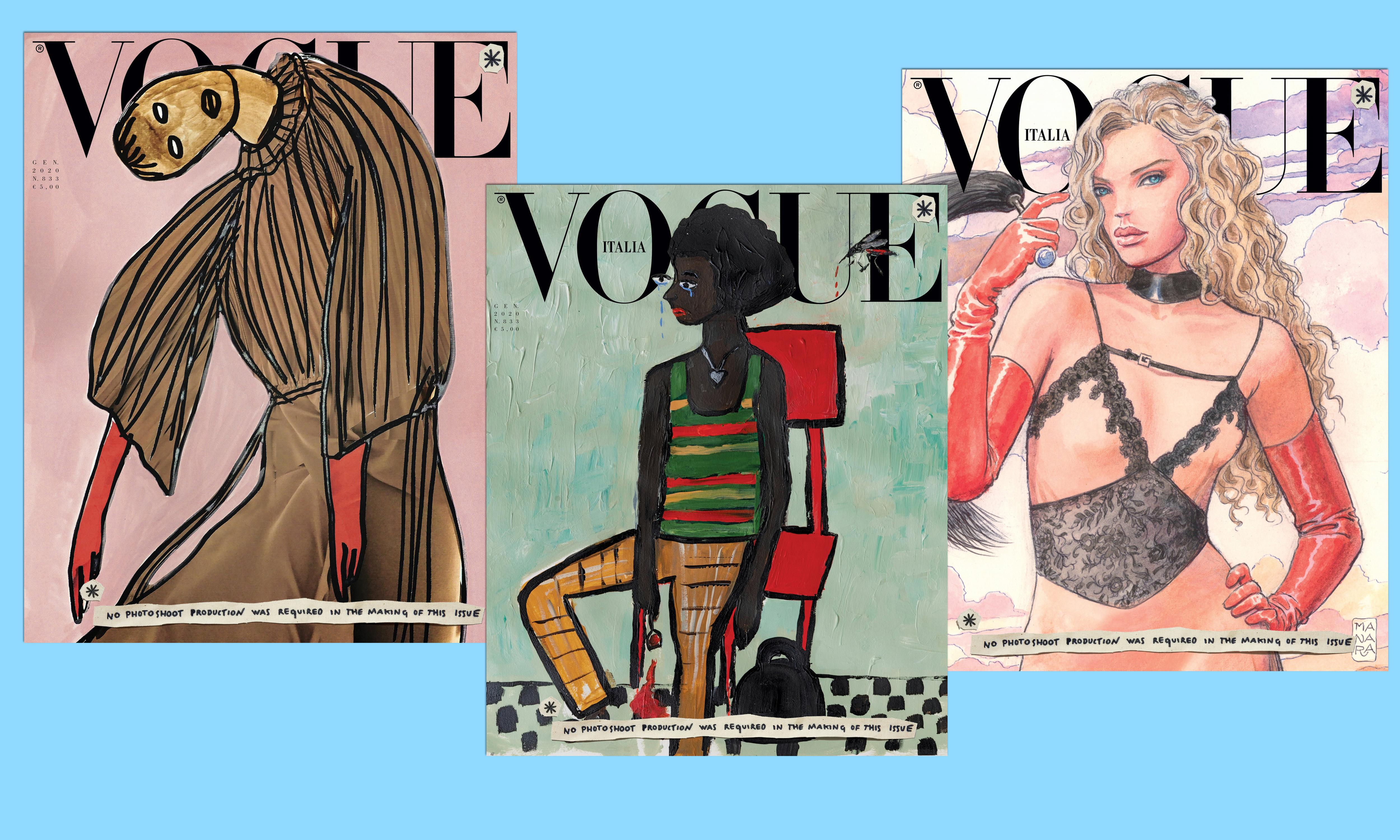 Vogue Italia drops photoshoots from January issue in green statement