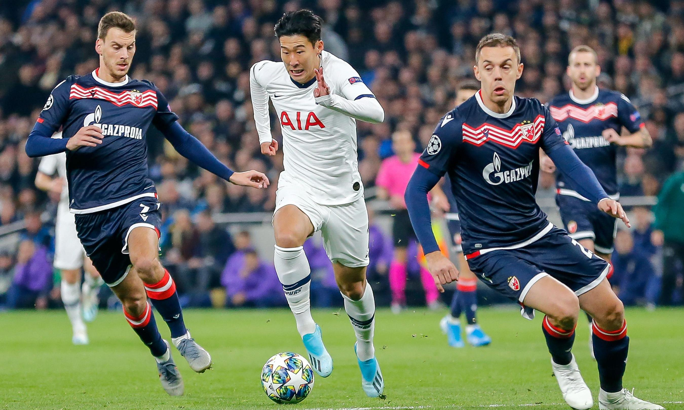 Son seems to melt away Spurs' woes, but hapless Red Star no bellwether