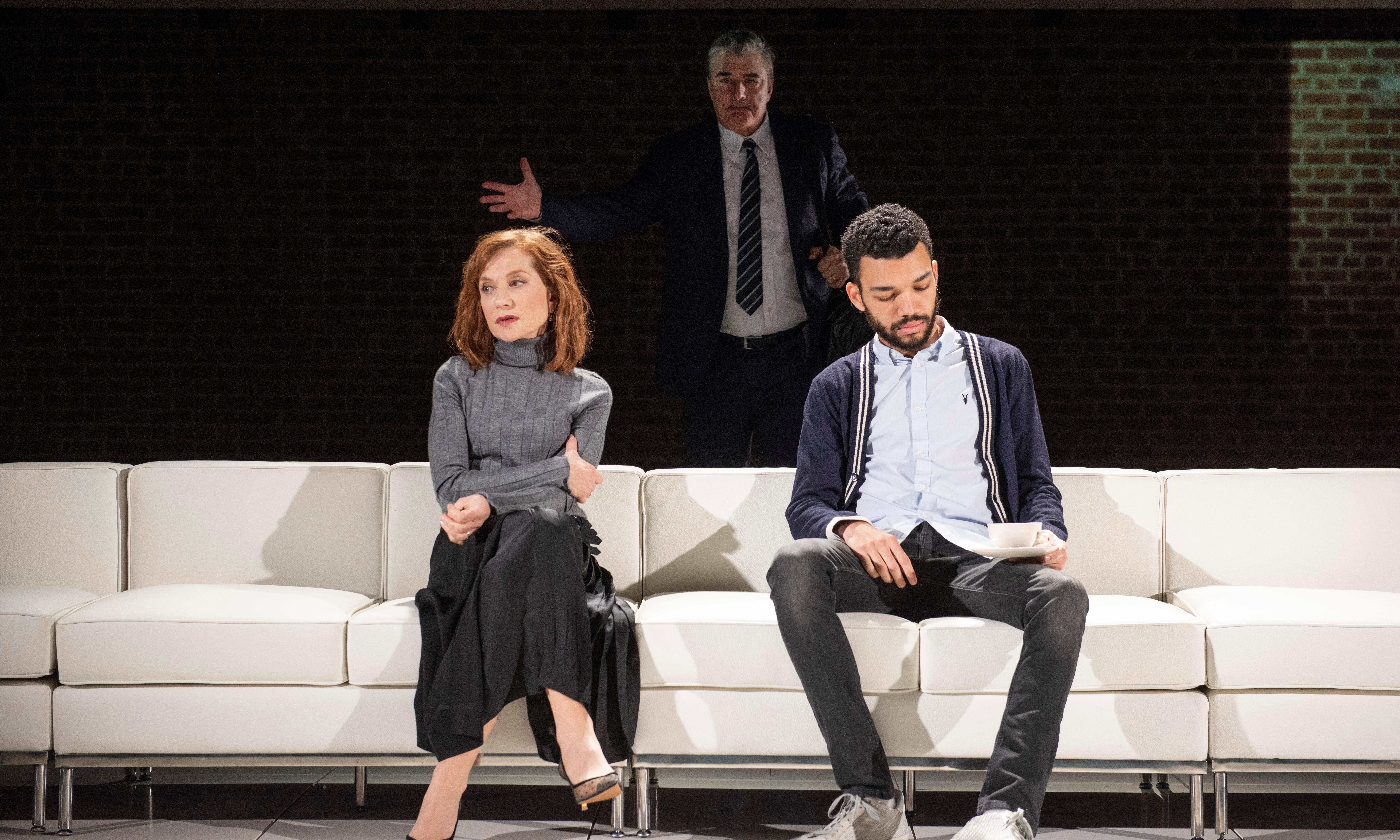 The Mother review – Isabelle Huppert shines in otherwise stale play