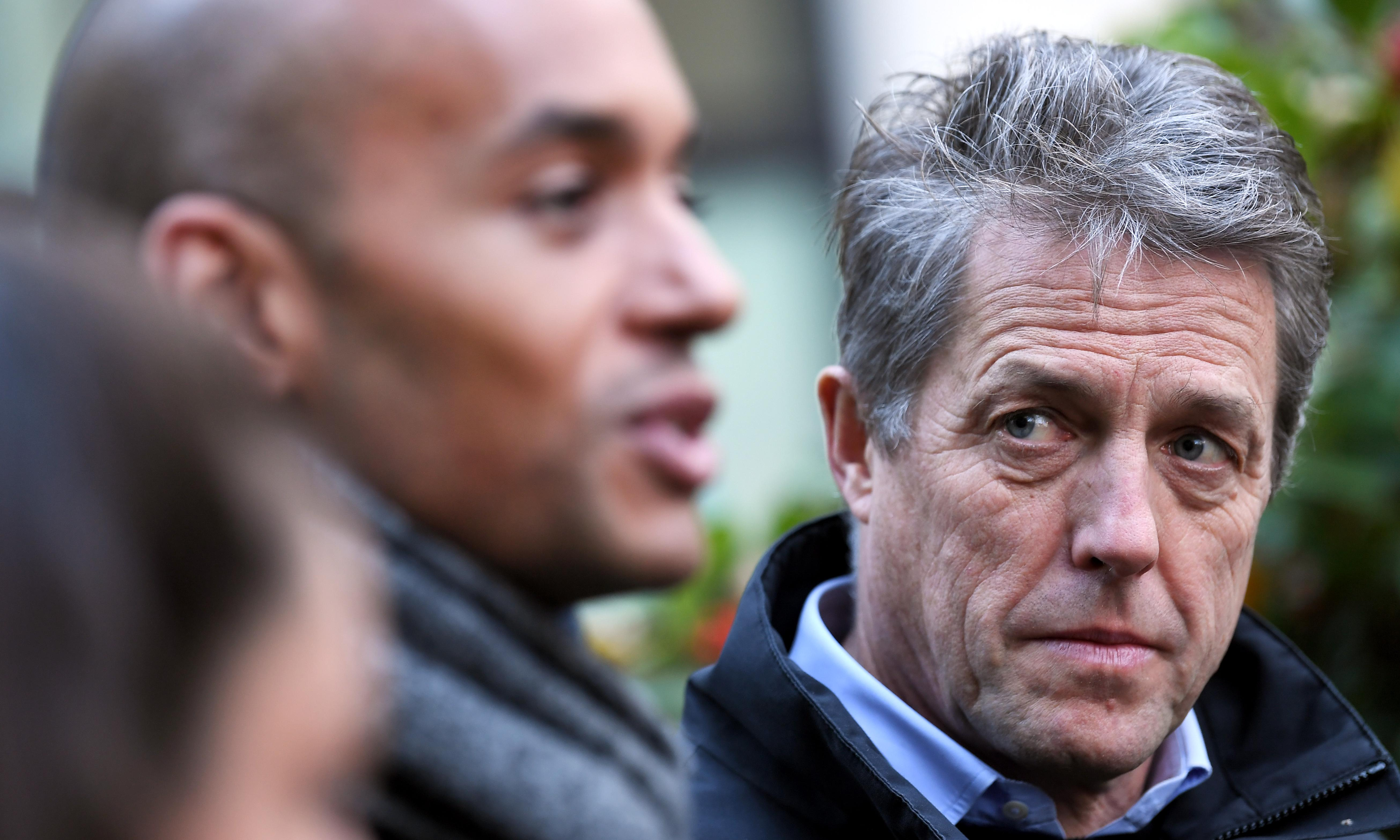Hugh Grant: 'I want to do my bit to prevent a national catastrophe'