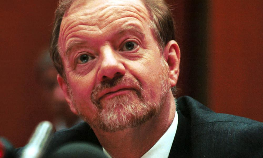 Robin Cook as foreign secretary in 1999.
