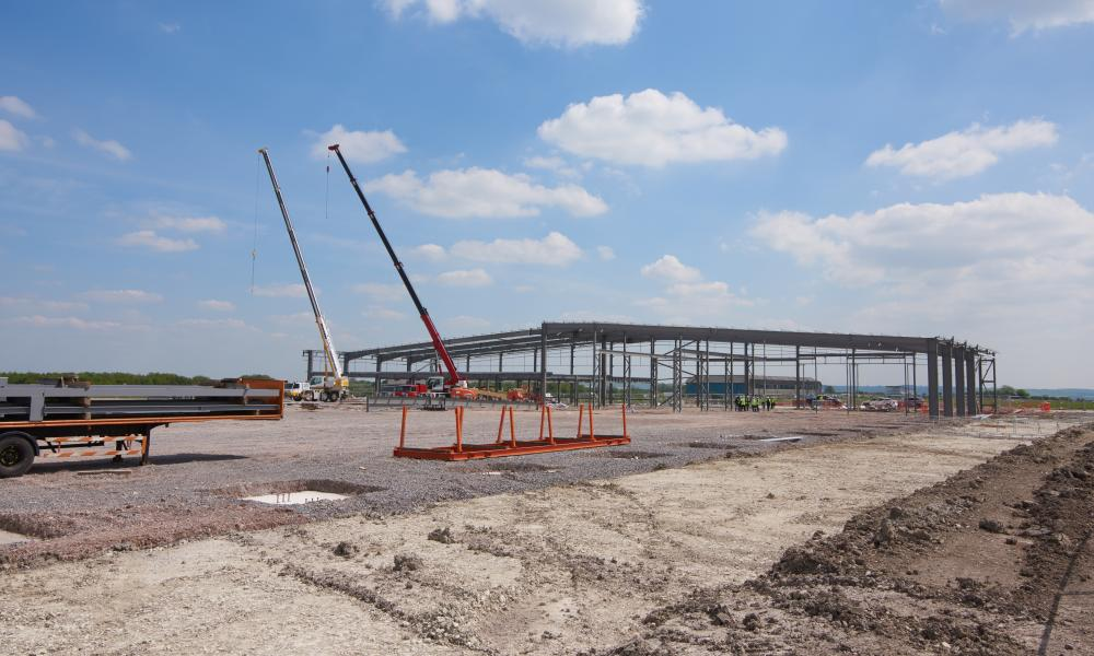 The new Science Museum facility near Swindon