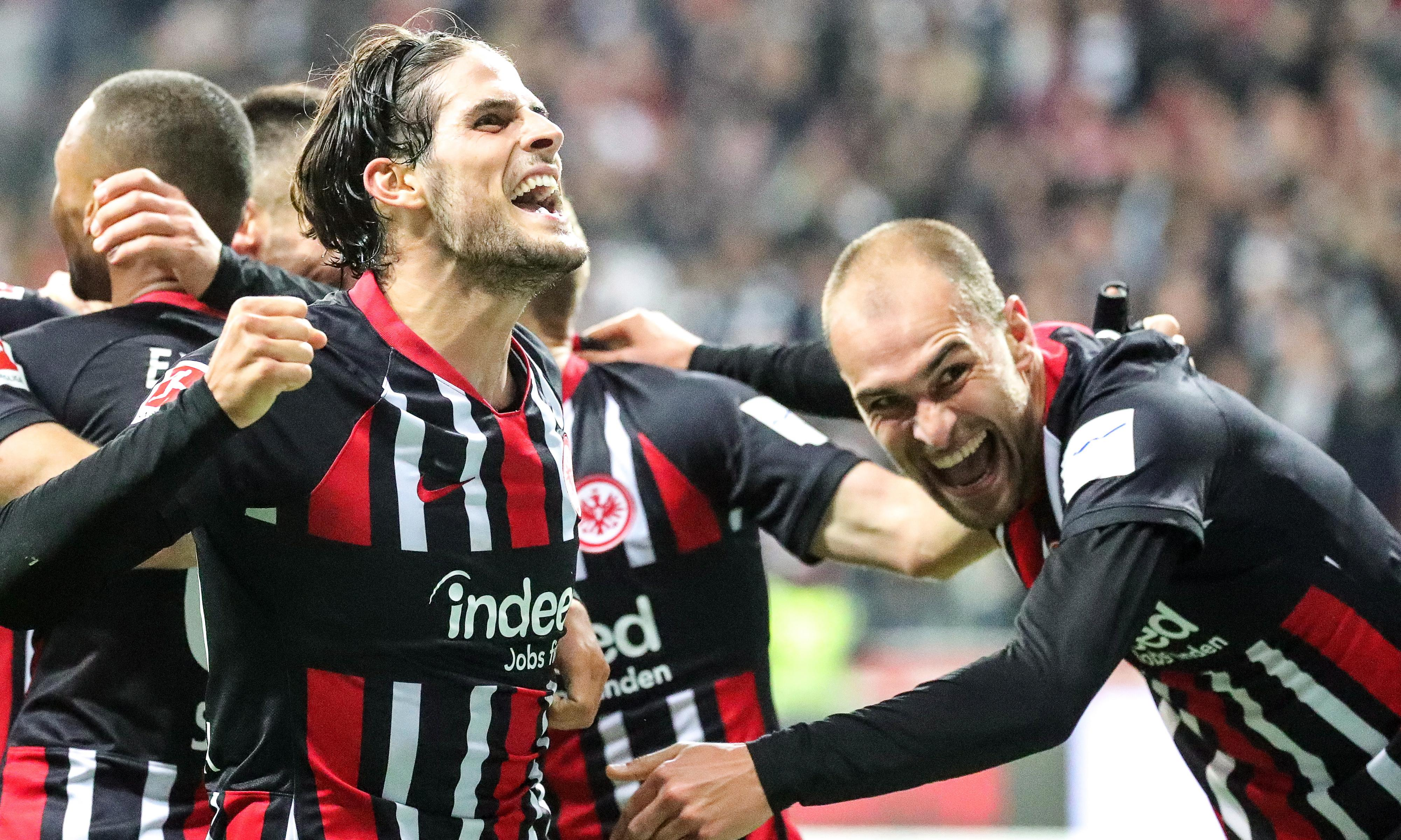 Prodigal son Gonçalo Paciência leads Eintracht revenge mission