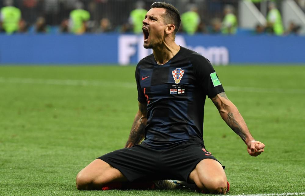 Dejan Lovren, here celebrating Croatia's World Cup victory over England, returns for Friday's match.