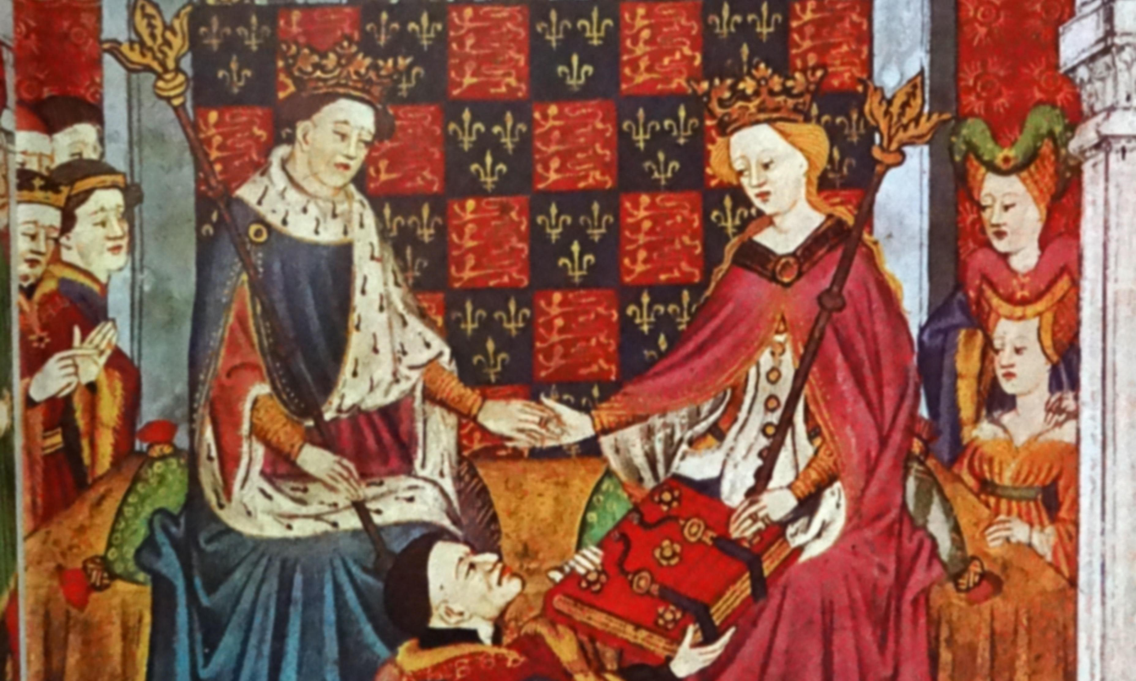 Did Henry VI have a sex coach in his marriage bed?