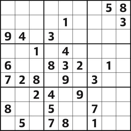 Sudoku 4,439 easy