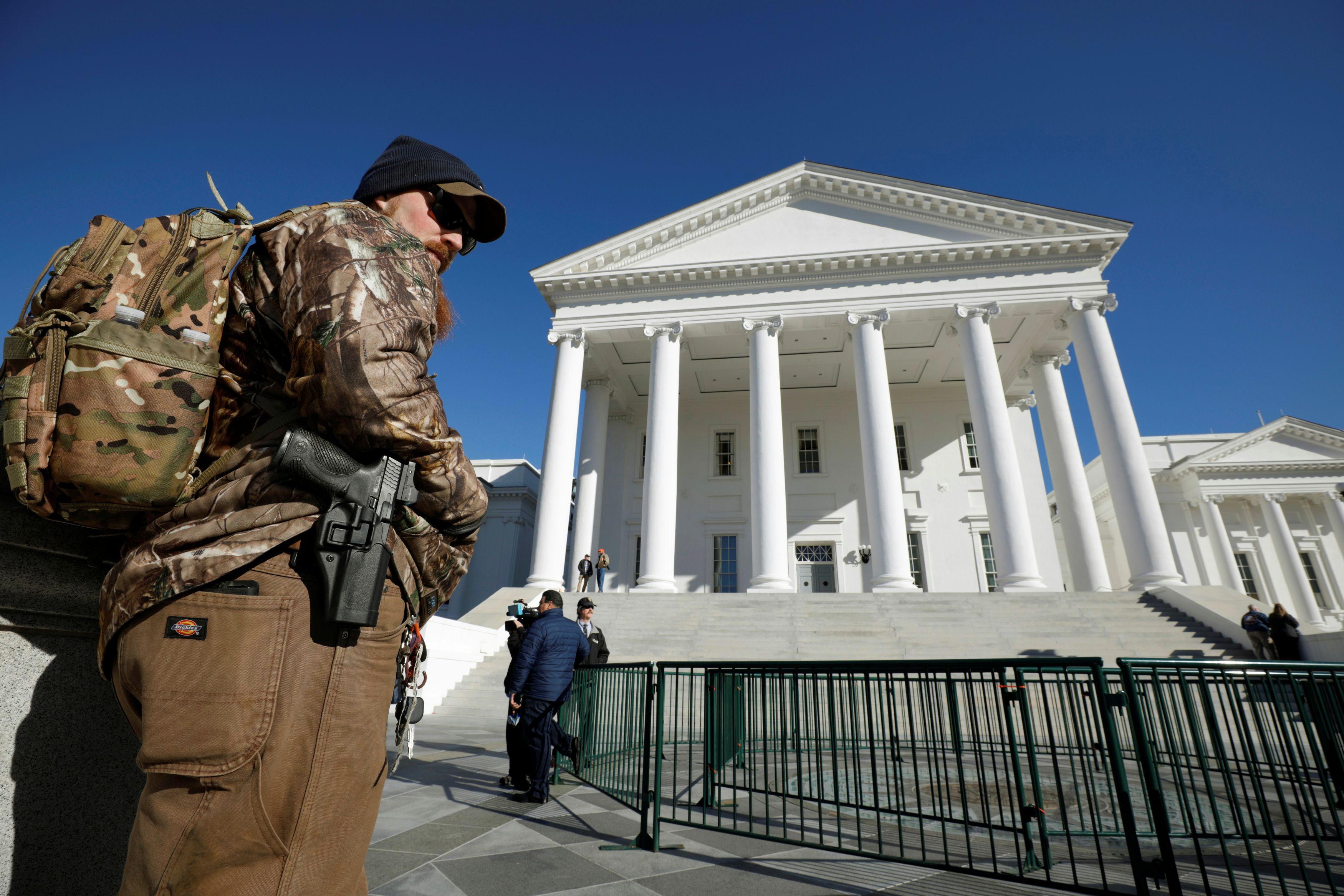 Virginia Democrats won an election. Gun owners are talking civil war