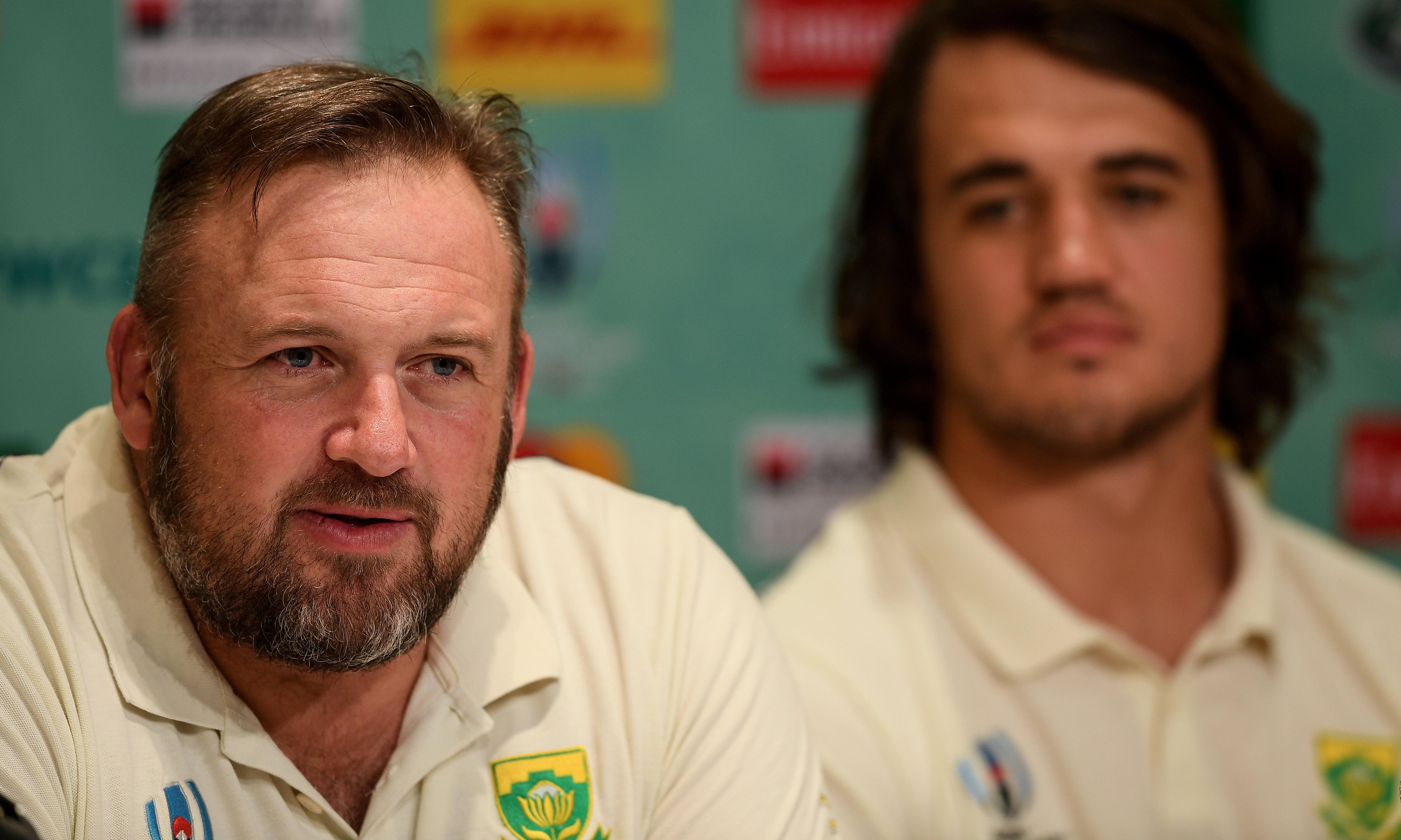 South Africa's Matt Proudfoot warns Japan to 'ignore us at your peril'