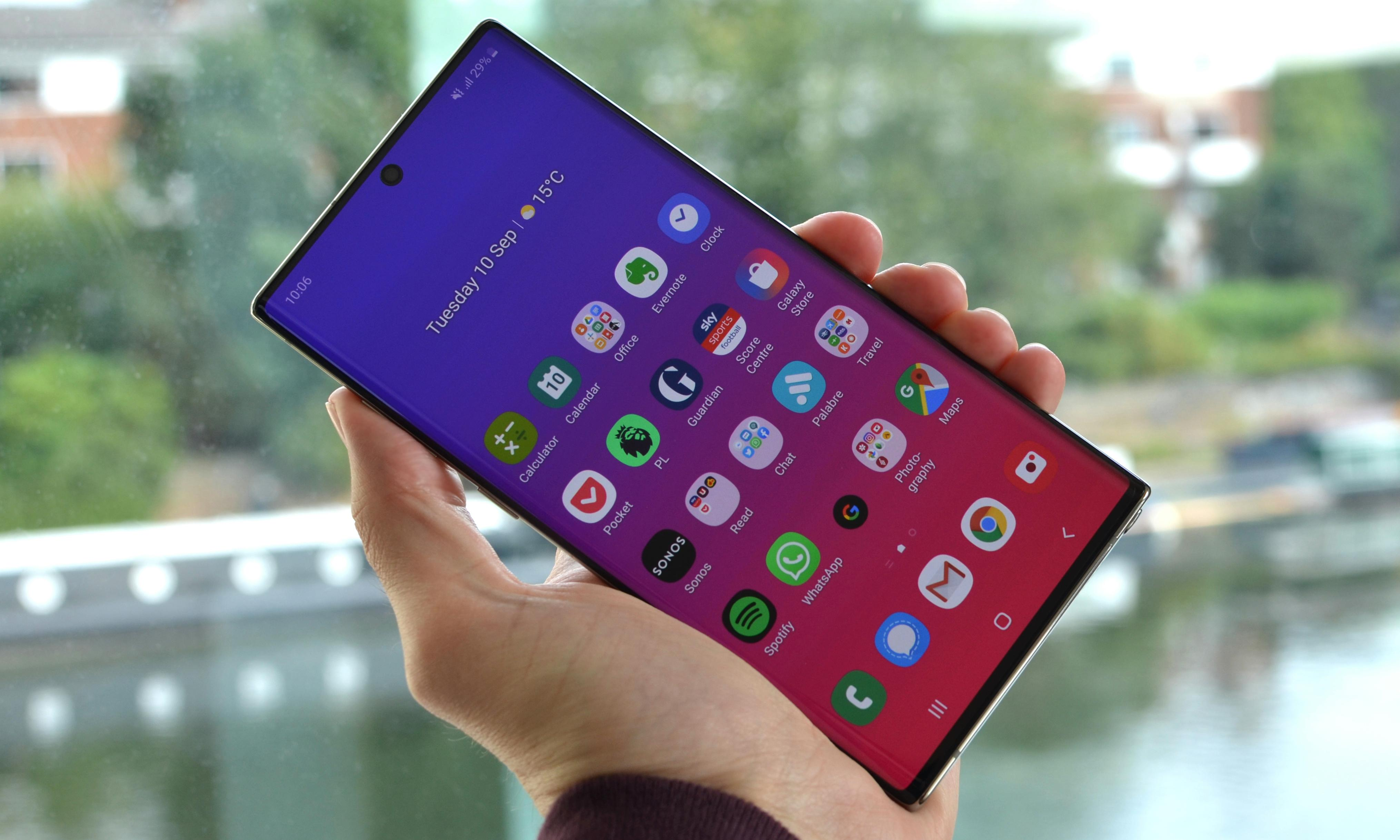Samsung Galaxy Note 10+ review: bigger and now with a magic wand