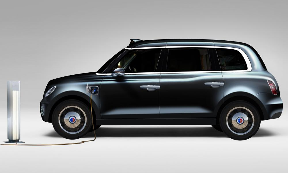 London Taxi Company will unwrap its new electric cab this week.