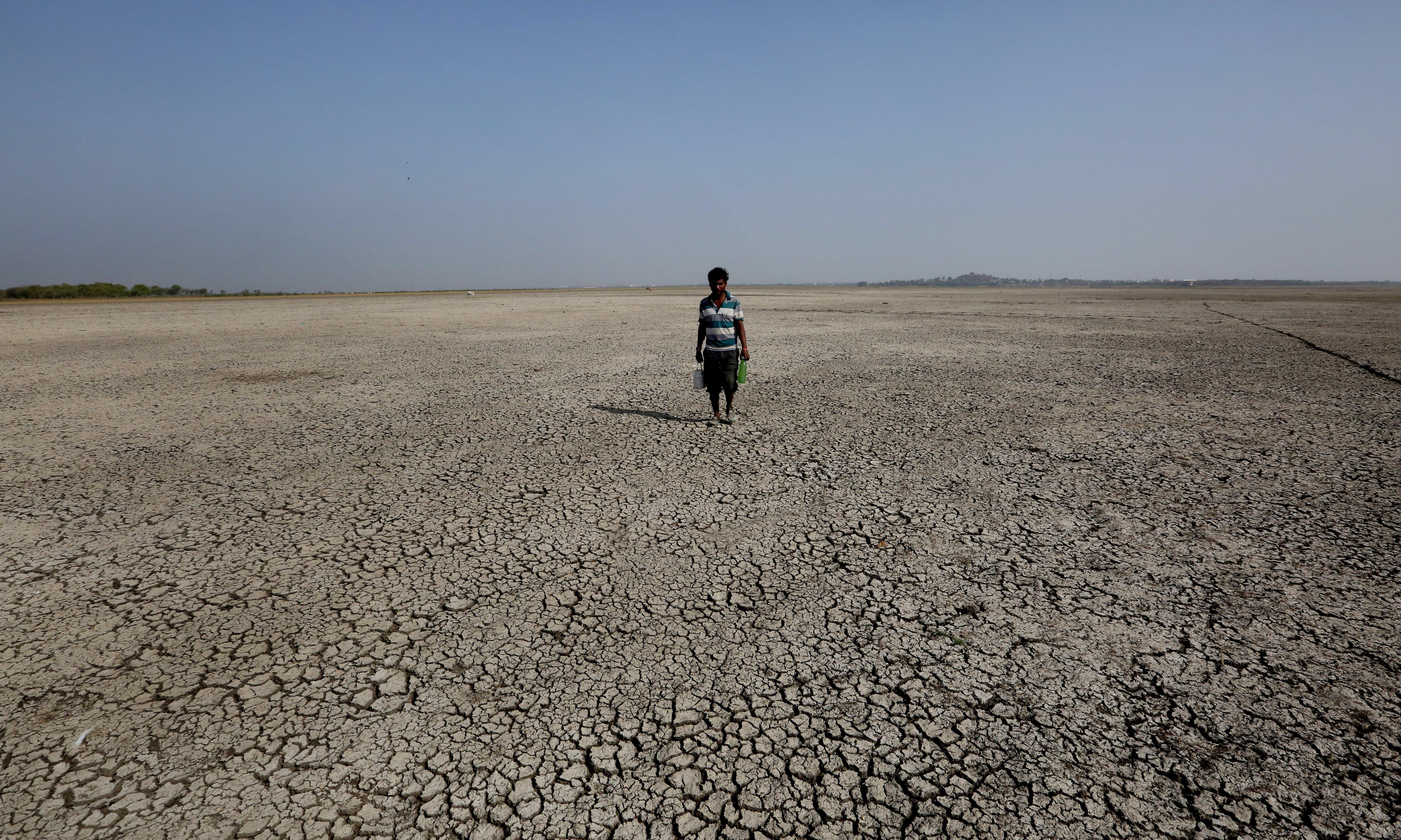 Shocking suffering in drought-hit India