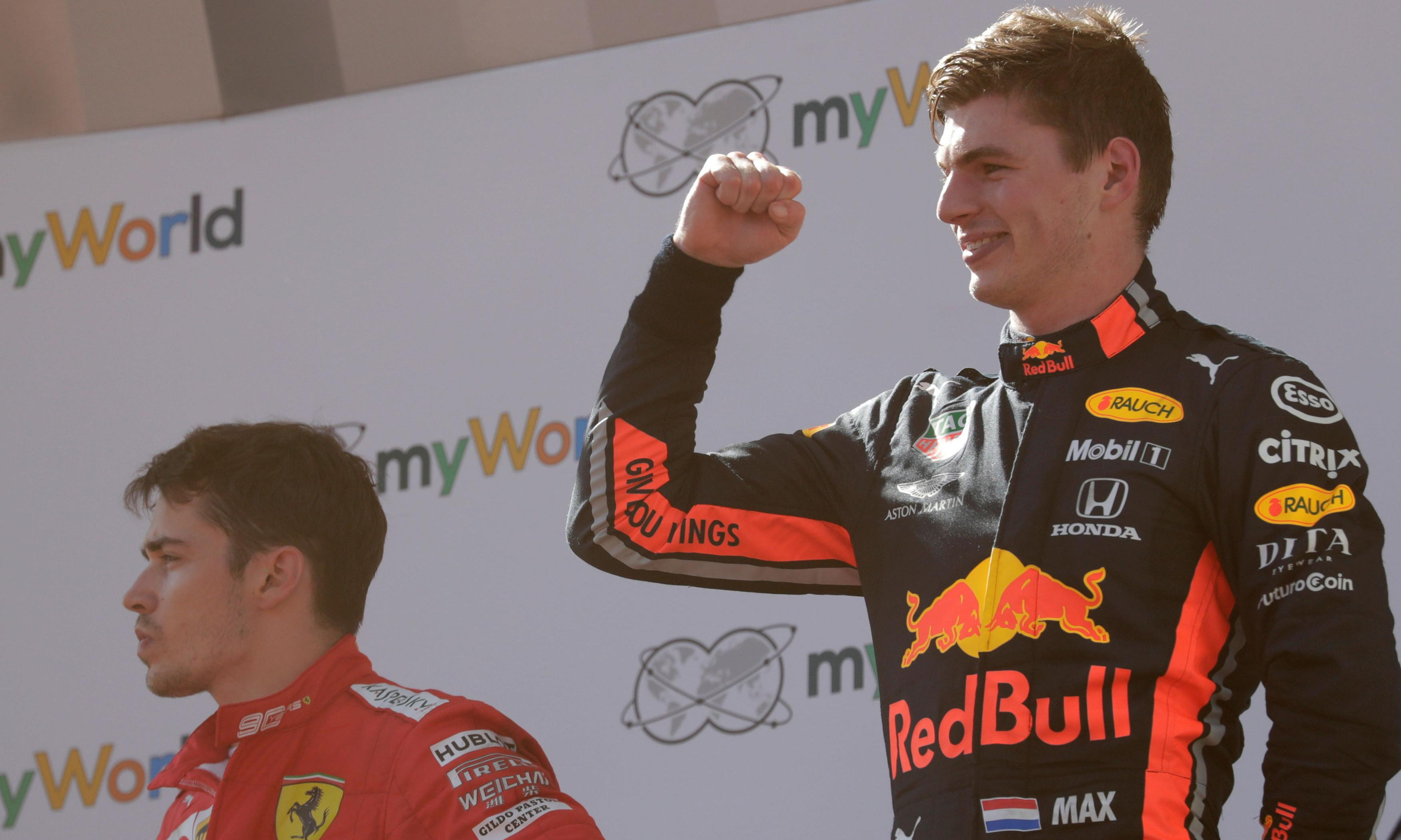 Ferrari reluctantly accept stewards' call on Verstappen incident