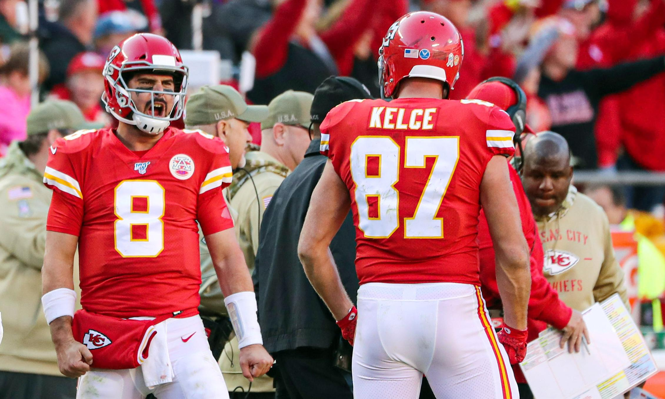 When the Chiefs win with a high-school coach at QB, we know they are for real