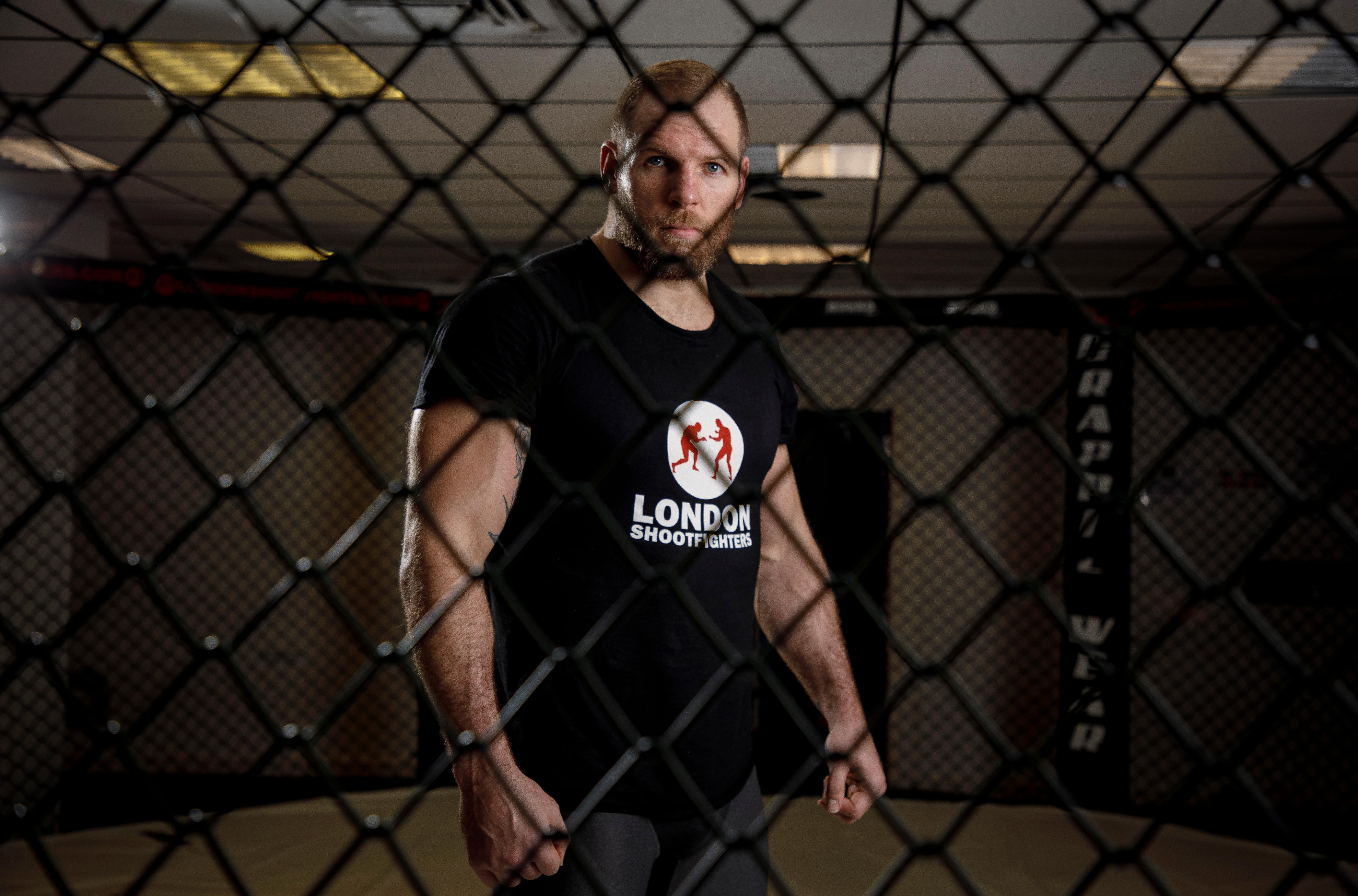 James Haskell: 'When you're being choked in the MMA cage it's horrific'