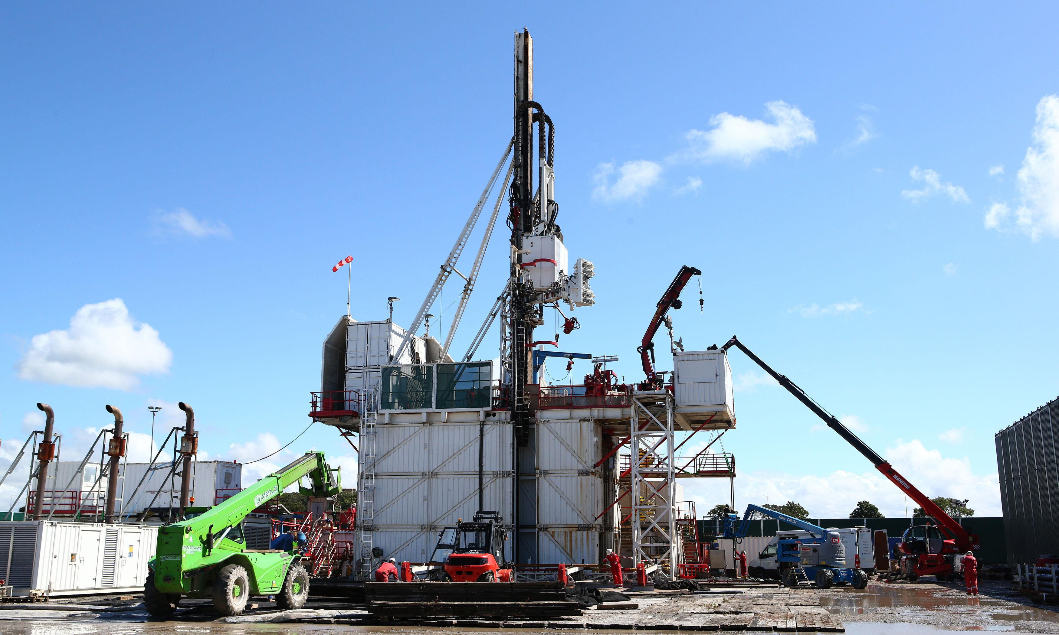 Latest fracking tremor believed to be UK's biggest yet
