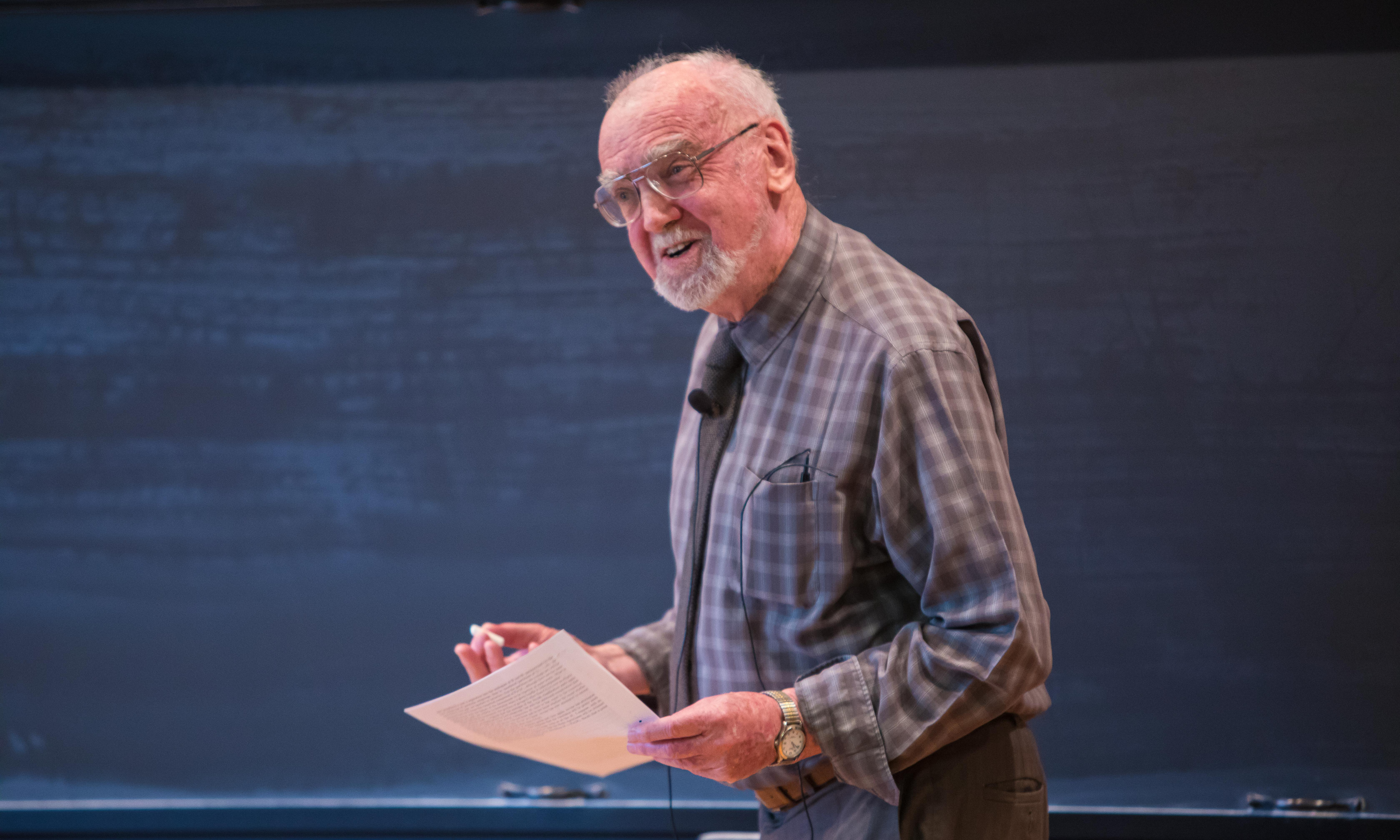 Abel Prize 2018: Robert Langlands wins for 'unified theory of maths'