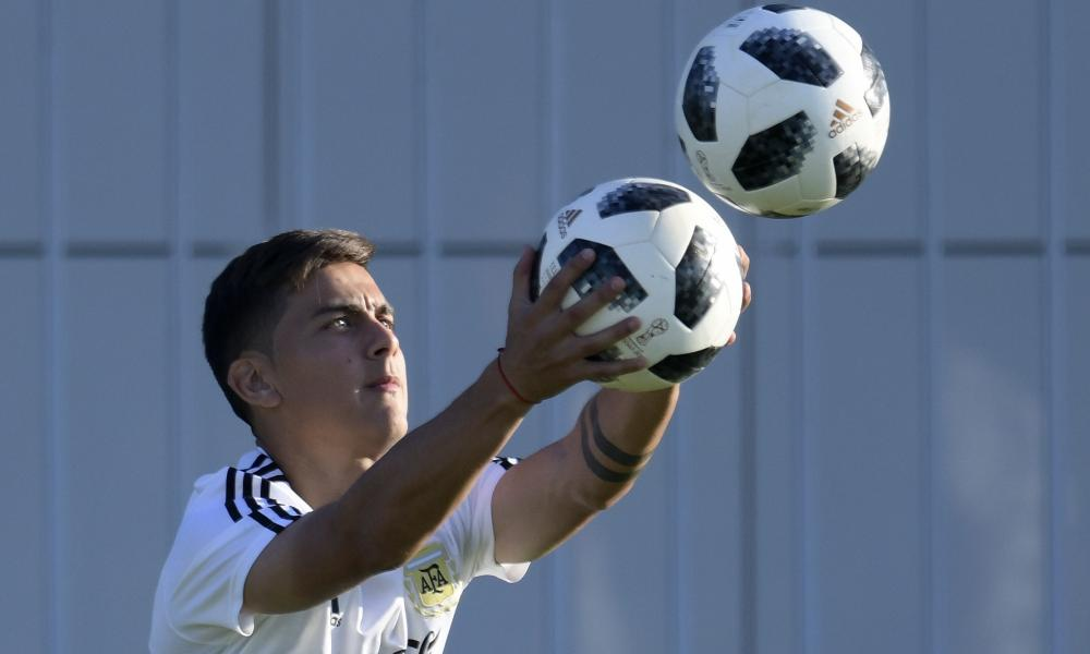 Argentina's forward Paulo Dybala was little more than a bystander during the World Cup.