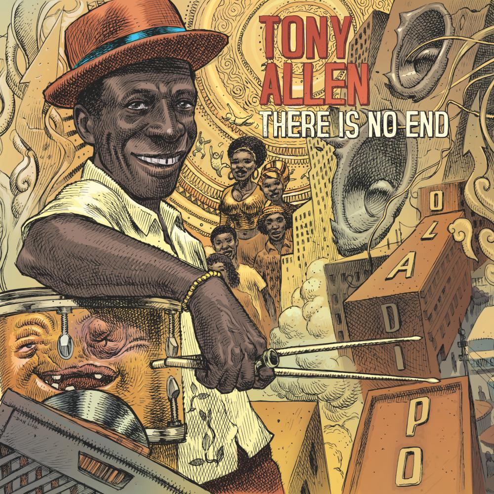 Tony Allen: There Is No End album cover