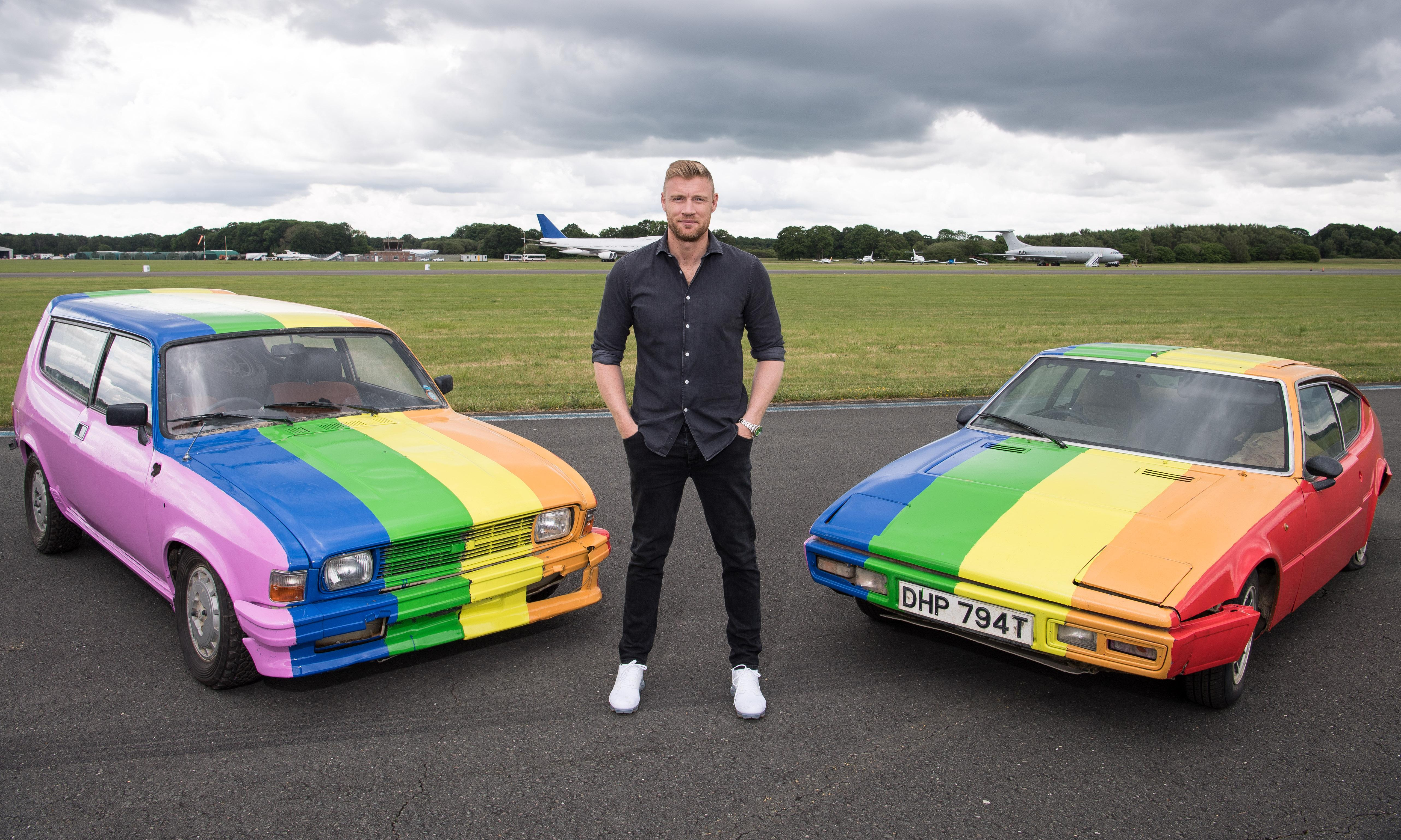 Top Gear sprays LGBT pride flag on cars used in Brunei filming