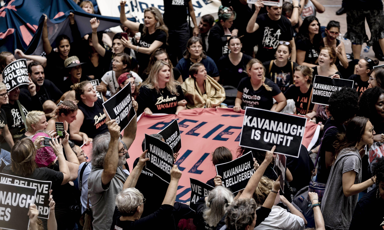 If Brett Kavanaugh makes it through, women's anger will be unstoppable
