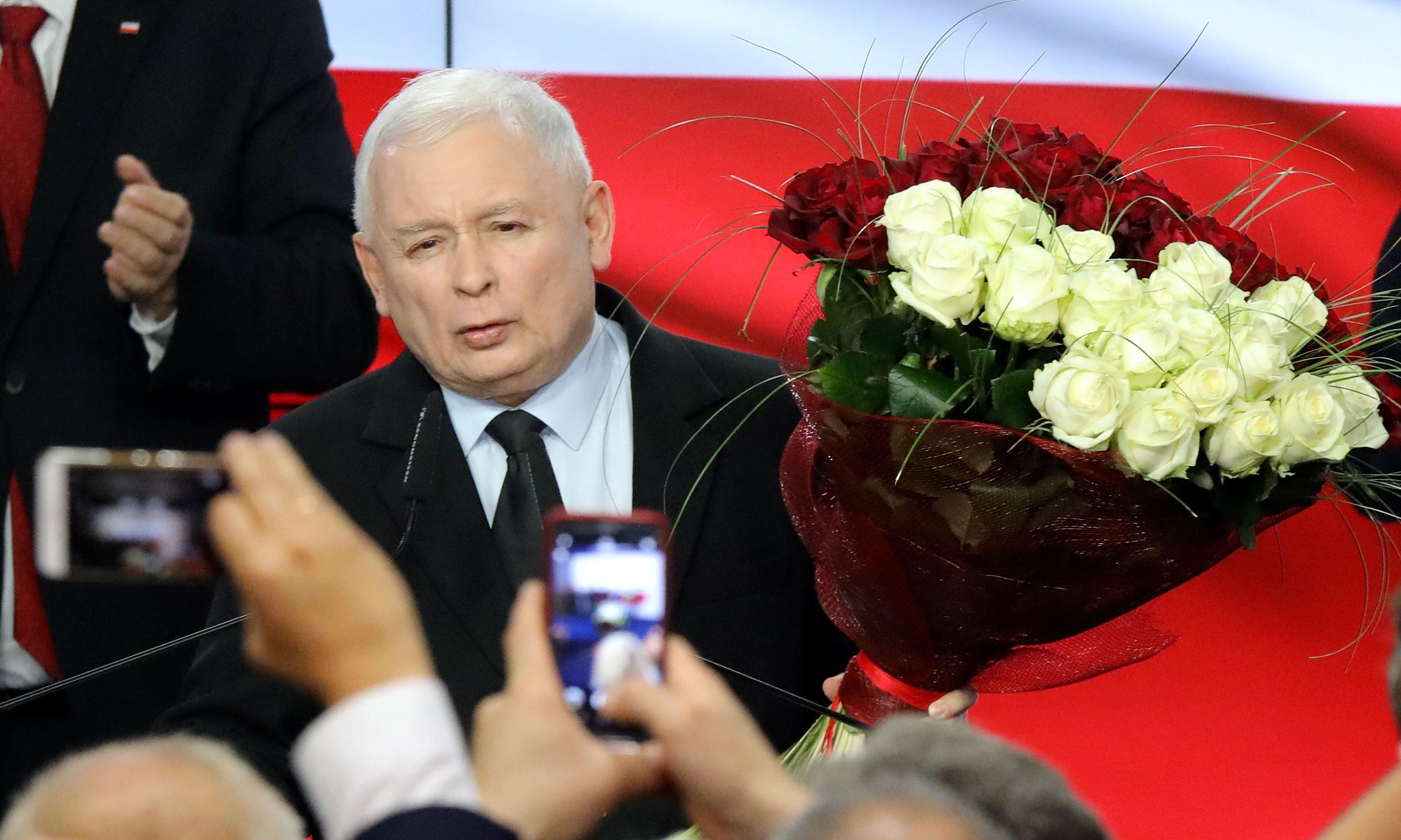 Poland's populist Law and Justice party increases its majority