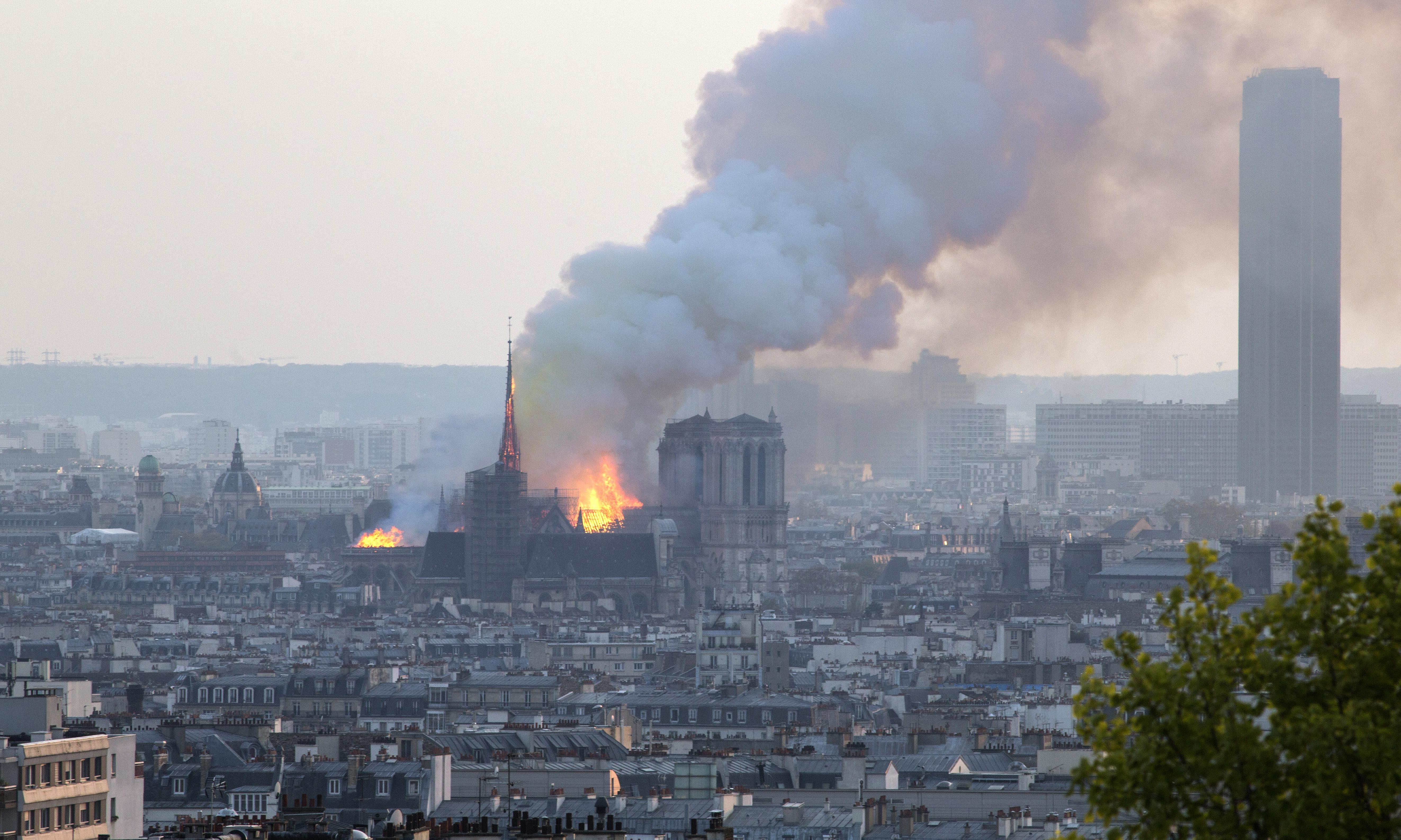 Notre Dame fire: Paris cathedral devastated by ferocious blaze