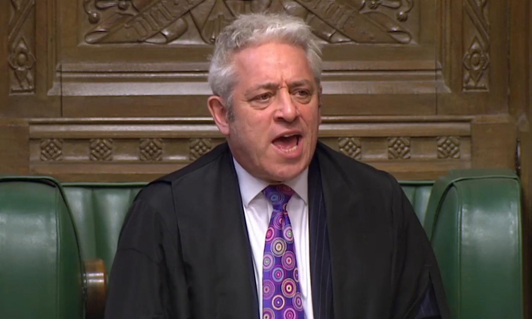 Tory MP launches attempt to oust John Bercow as Speaker