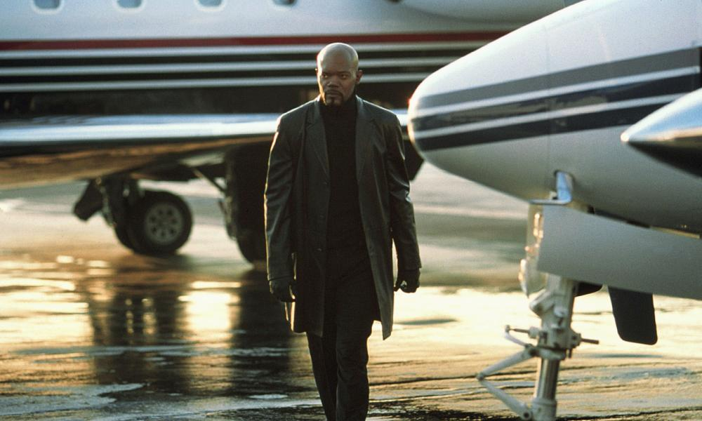 Marred by disagreements … Samuel L Jackson in Shaft.