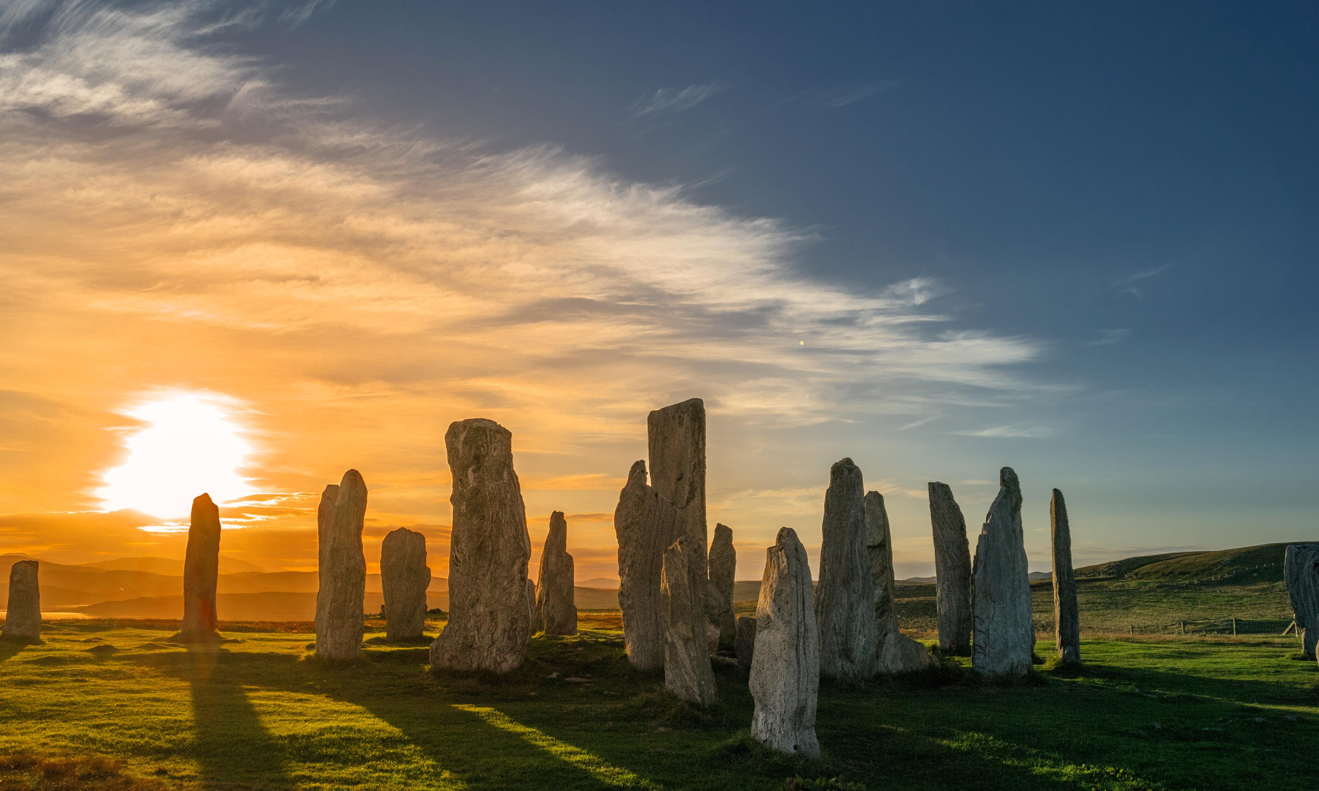 Magic and mystery on the Isle of Lewis, Scotland
