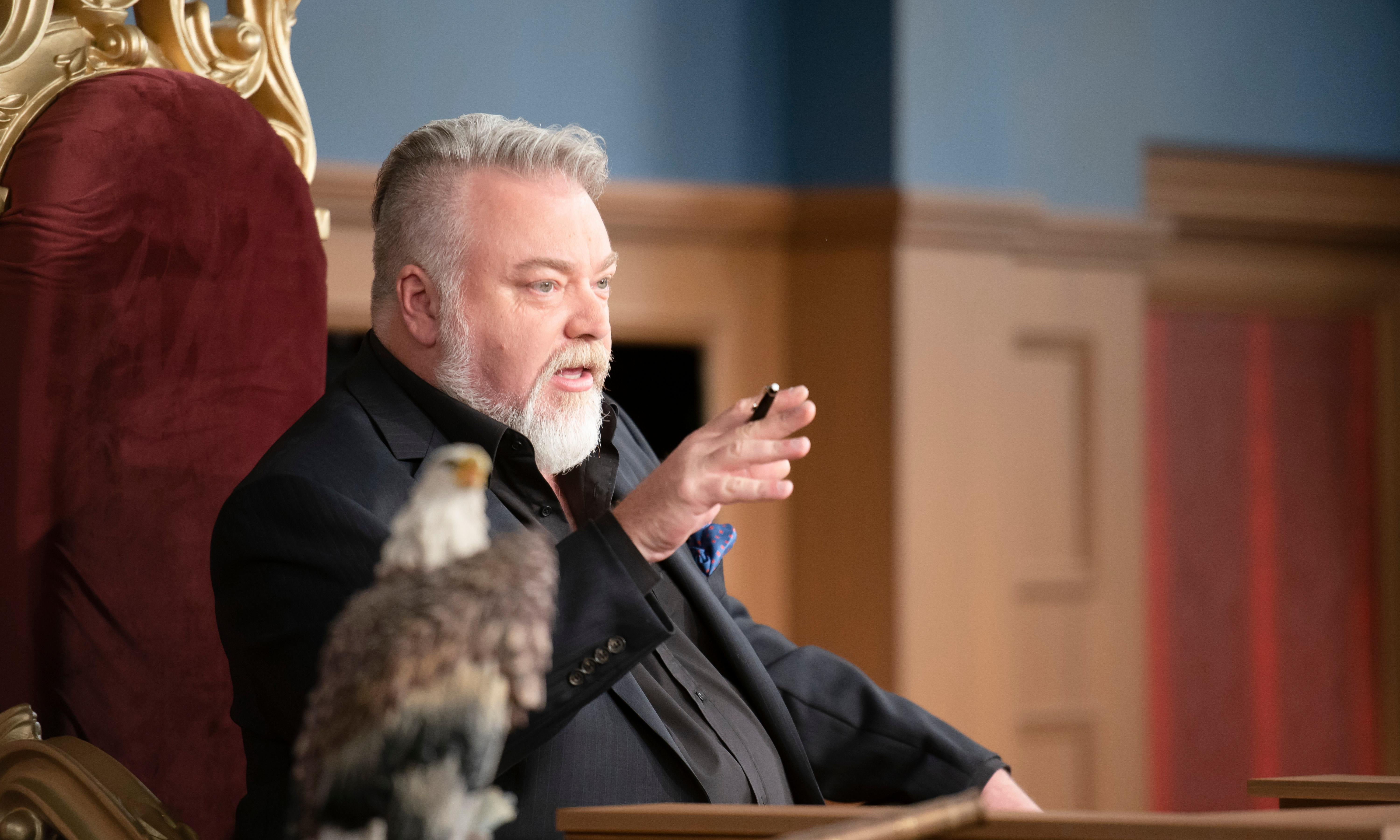 'King' Kyle Sandilands is judged and found wanting