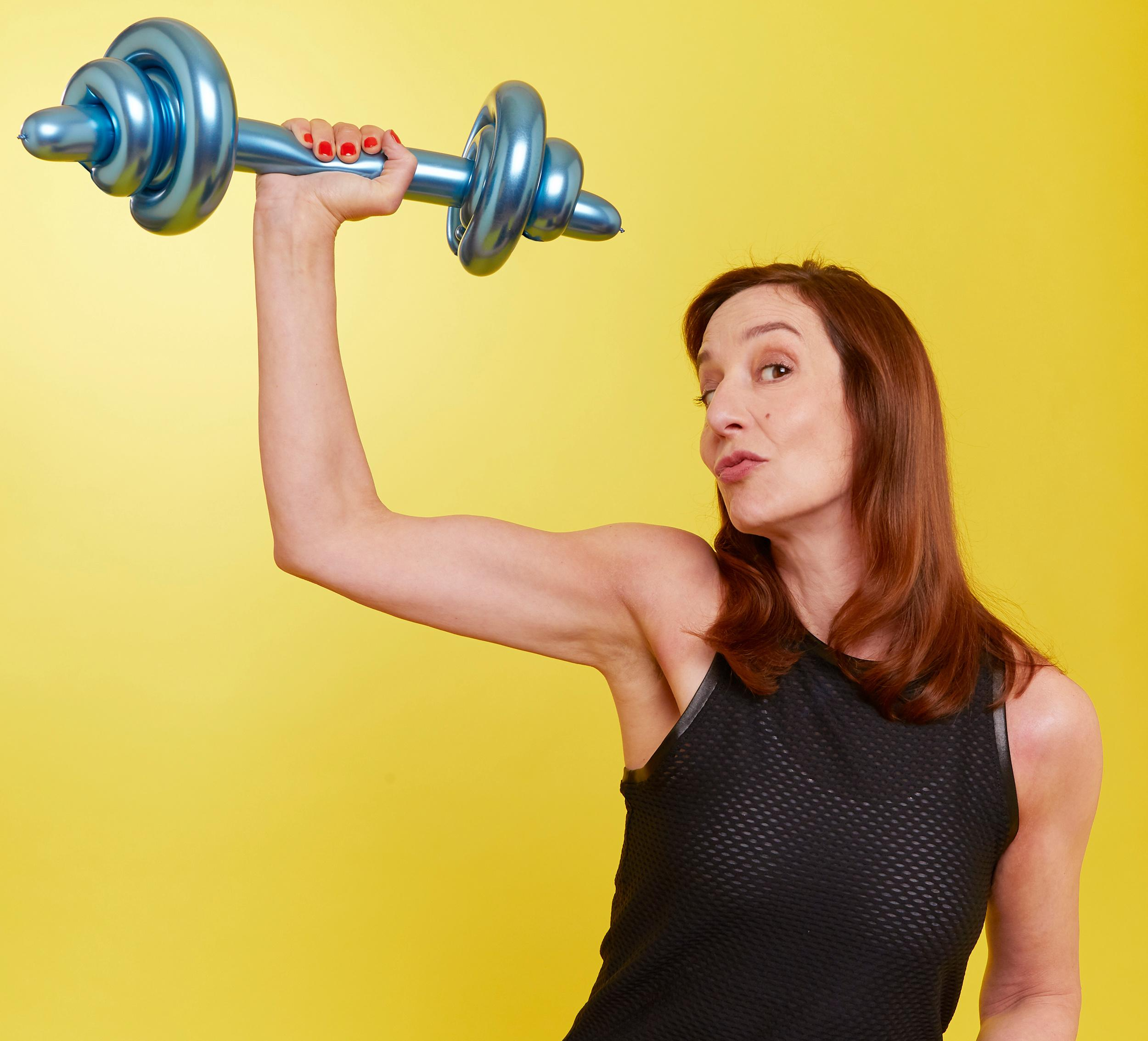 Fit in my 40s: can I become a strongwoman?