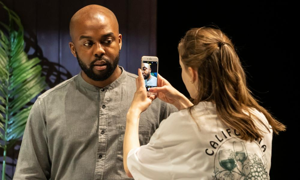 'I was basically ripping the face off of civilisation' …  Ken Nwosu as Leo and Helena Wilson as Dawn in White Noise.