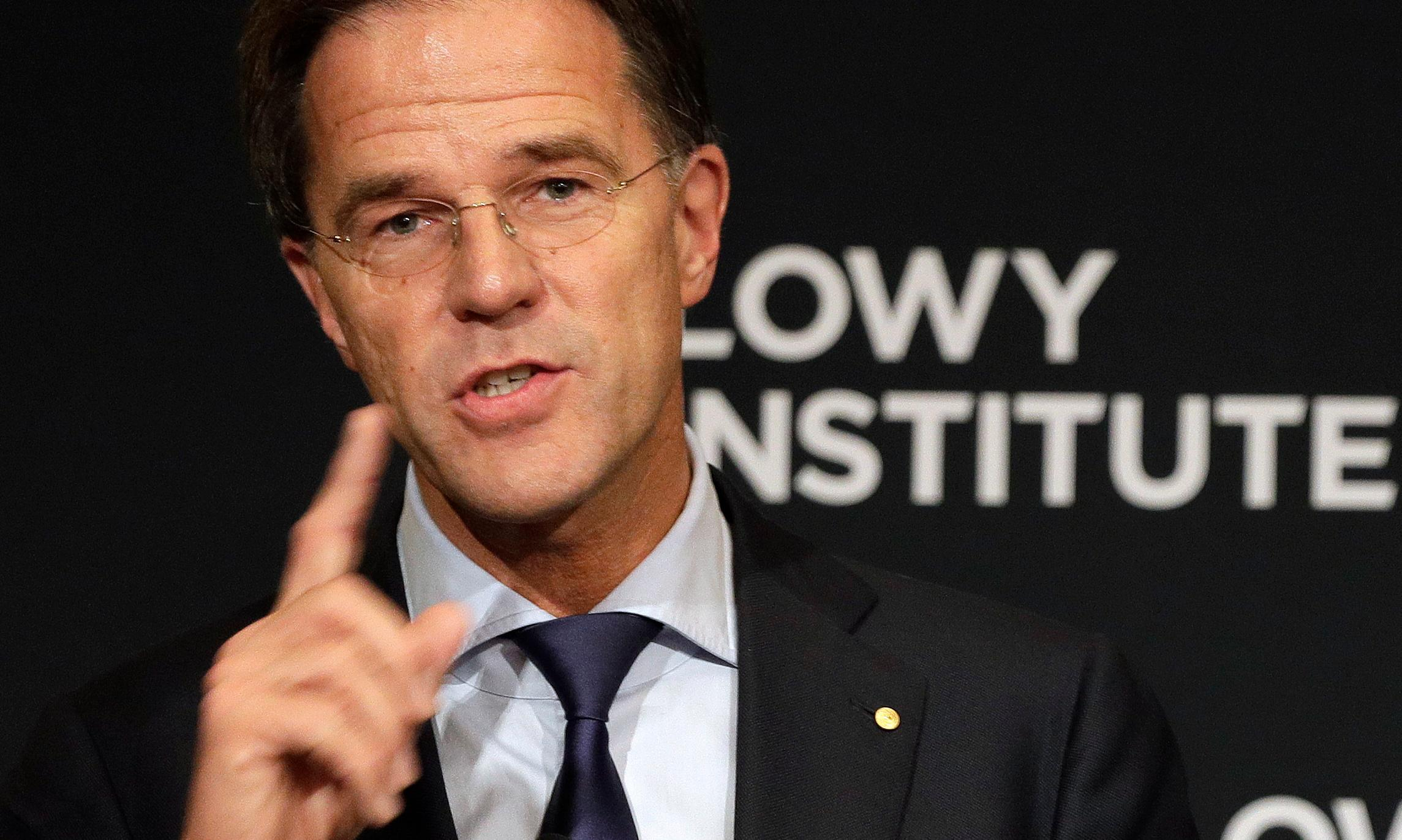 Dutch PM urges middle powers to help fix 'flawed' international order