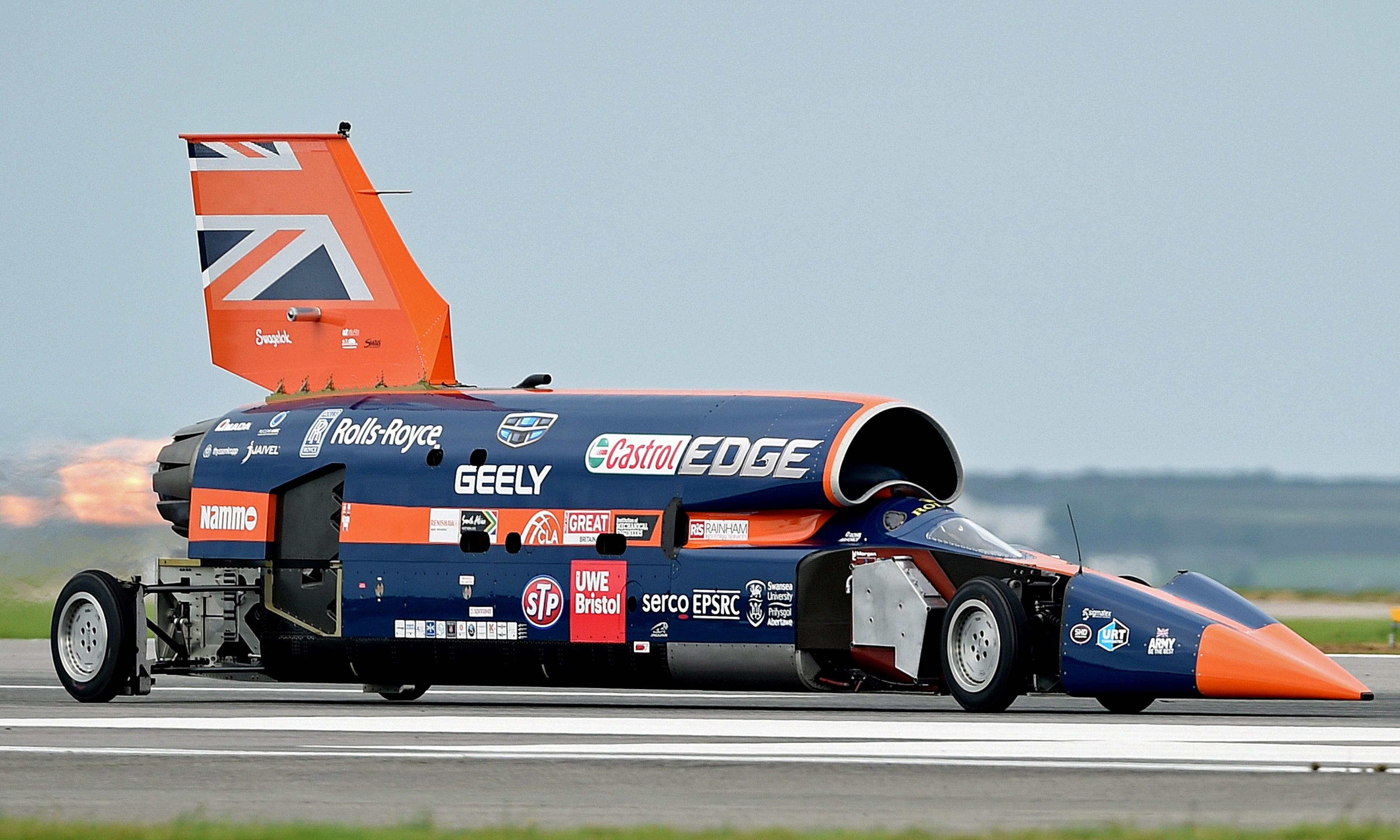 Bloodhound's 1,000mph car project given financial boost