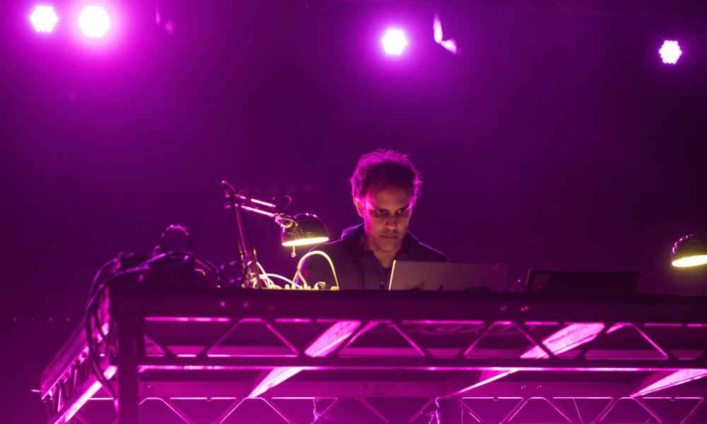 Face-melting electronica ... Four Tet.