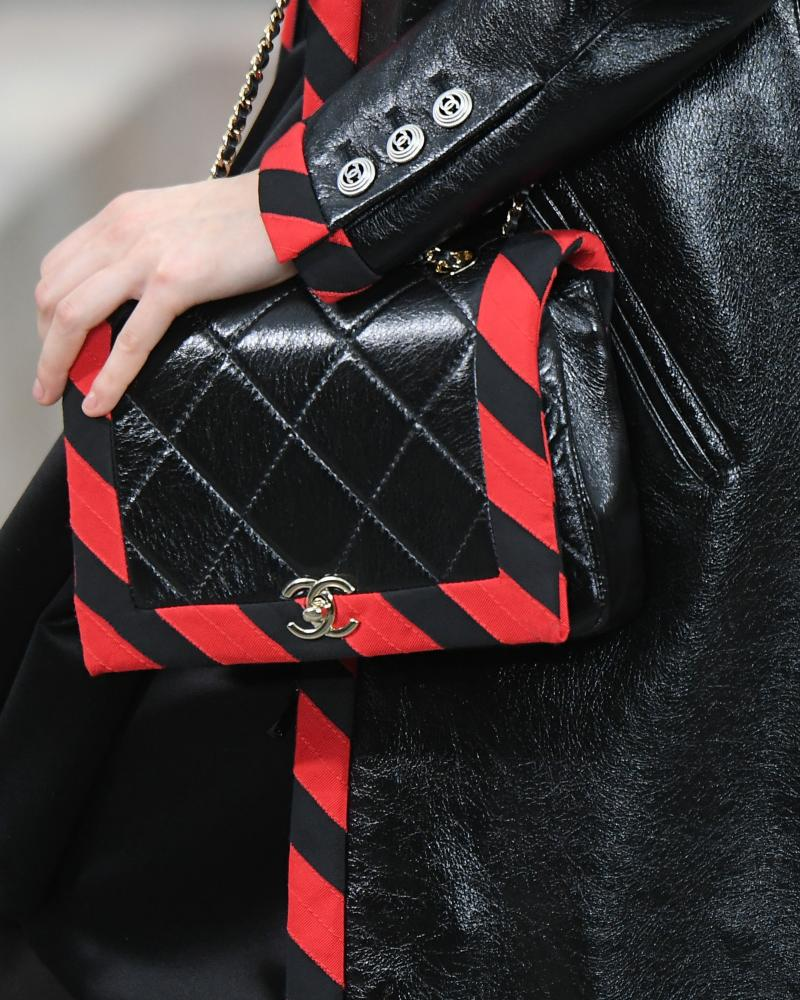 Chanel's iconic quilted bag – with a new-season twist