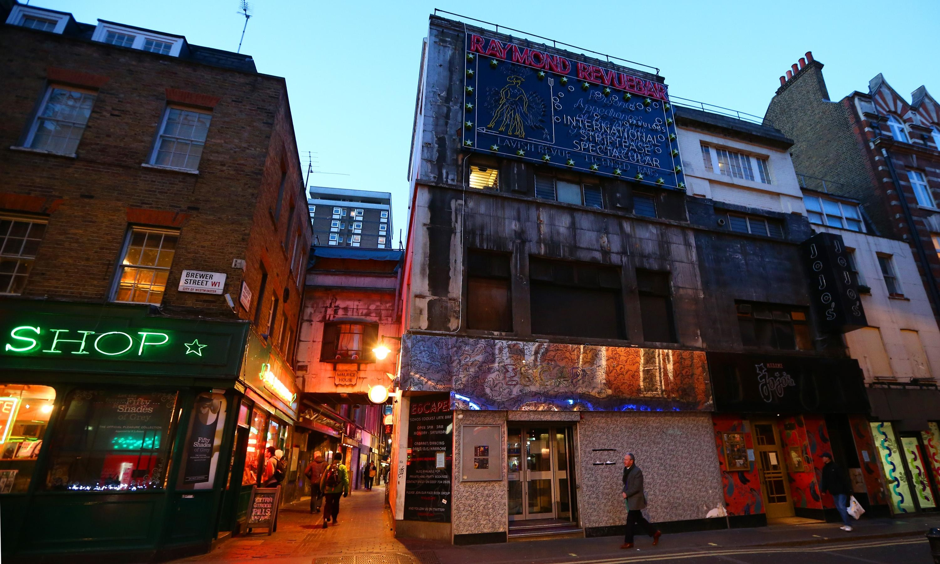 Soho has never been famous for its health-giving properties. Long may that continue