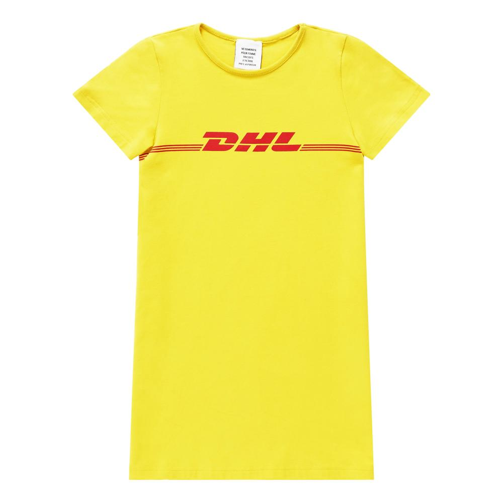 Vetements' DHL t-shirt.