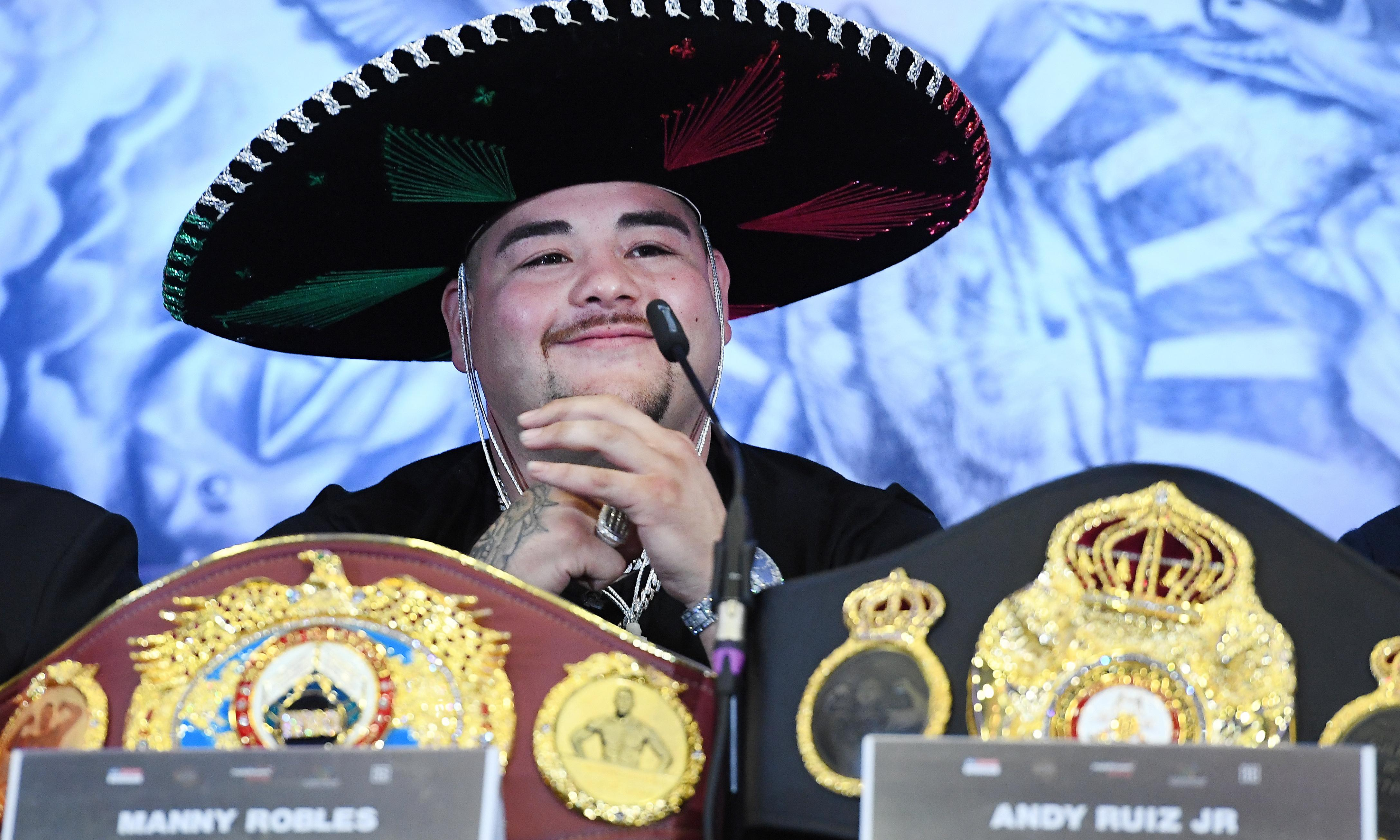 'Warrior' Andy Ruiz Jr expects 'same result' from Anthony Joshua rematch
