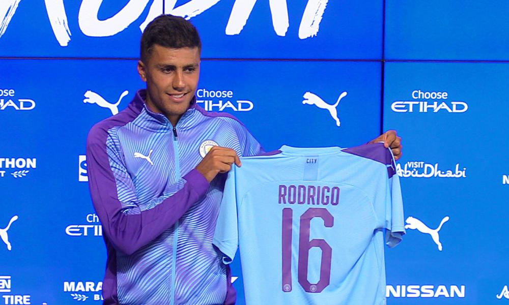 Rodri, Manchester City's new signing from Atlético Madrid