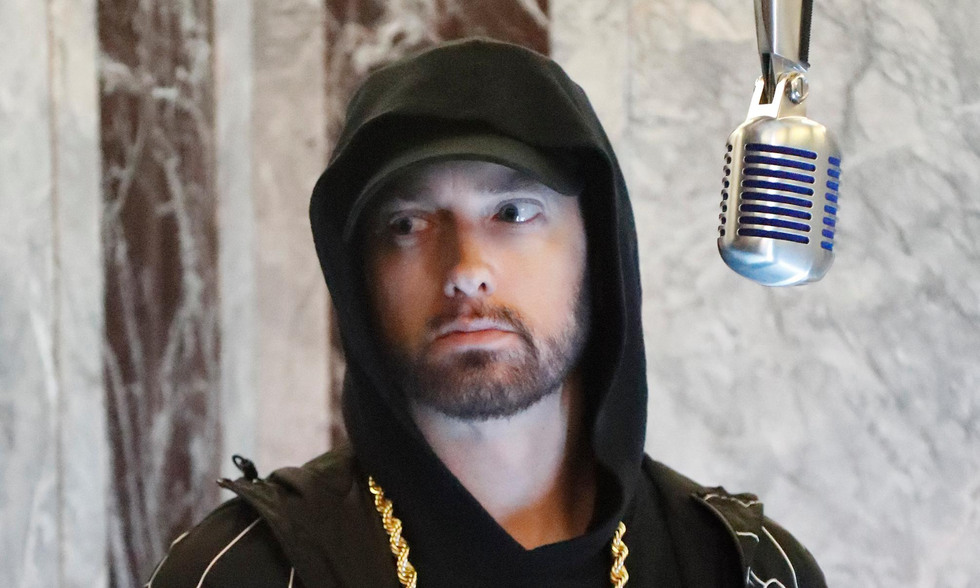 Eminem: Music to Be Murdered By review – potent force in search of targets