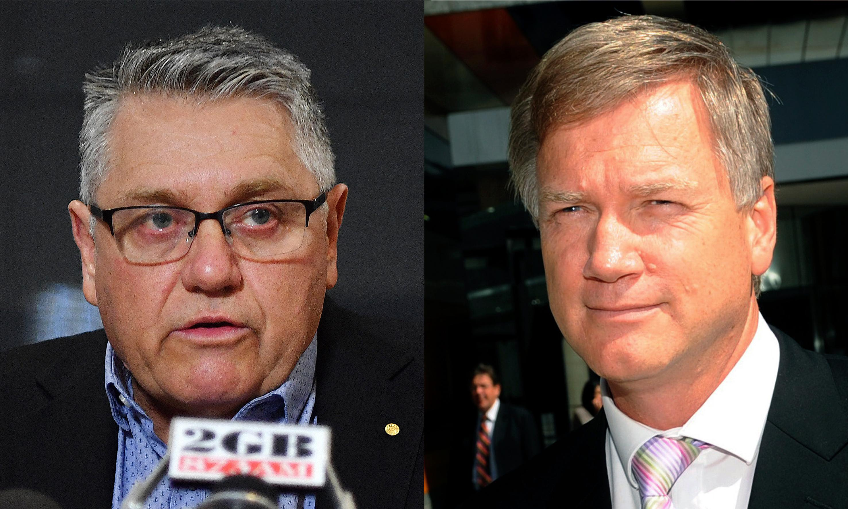 Ray Hadley on Andrew Bolt: shock jock calls News Corp favourite 'soft on paedophiles'