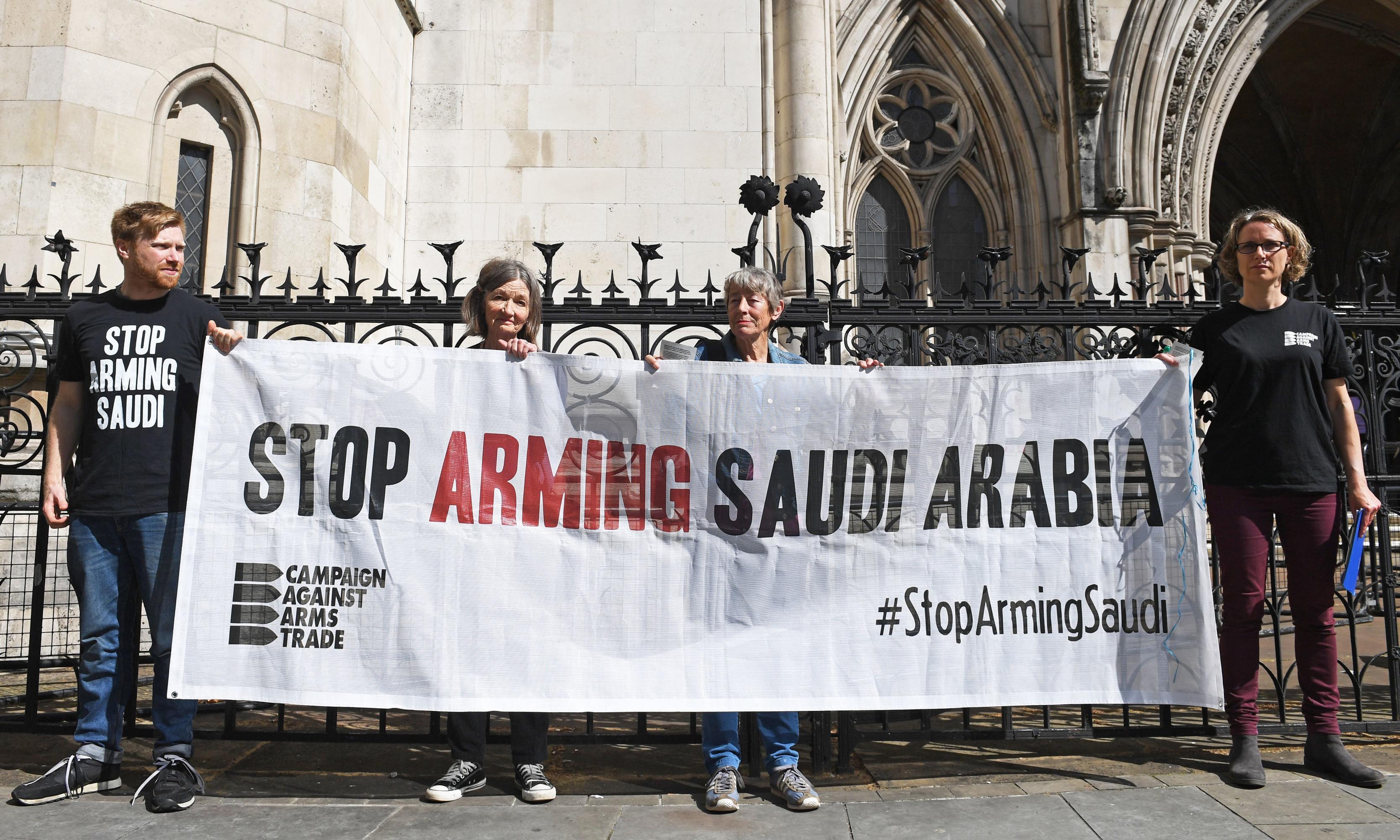 UK arms sales to Saudi Arabia unlawful, court of appeal declares