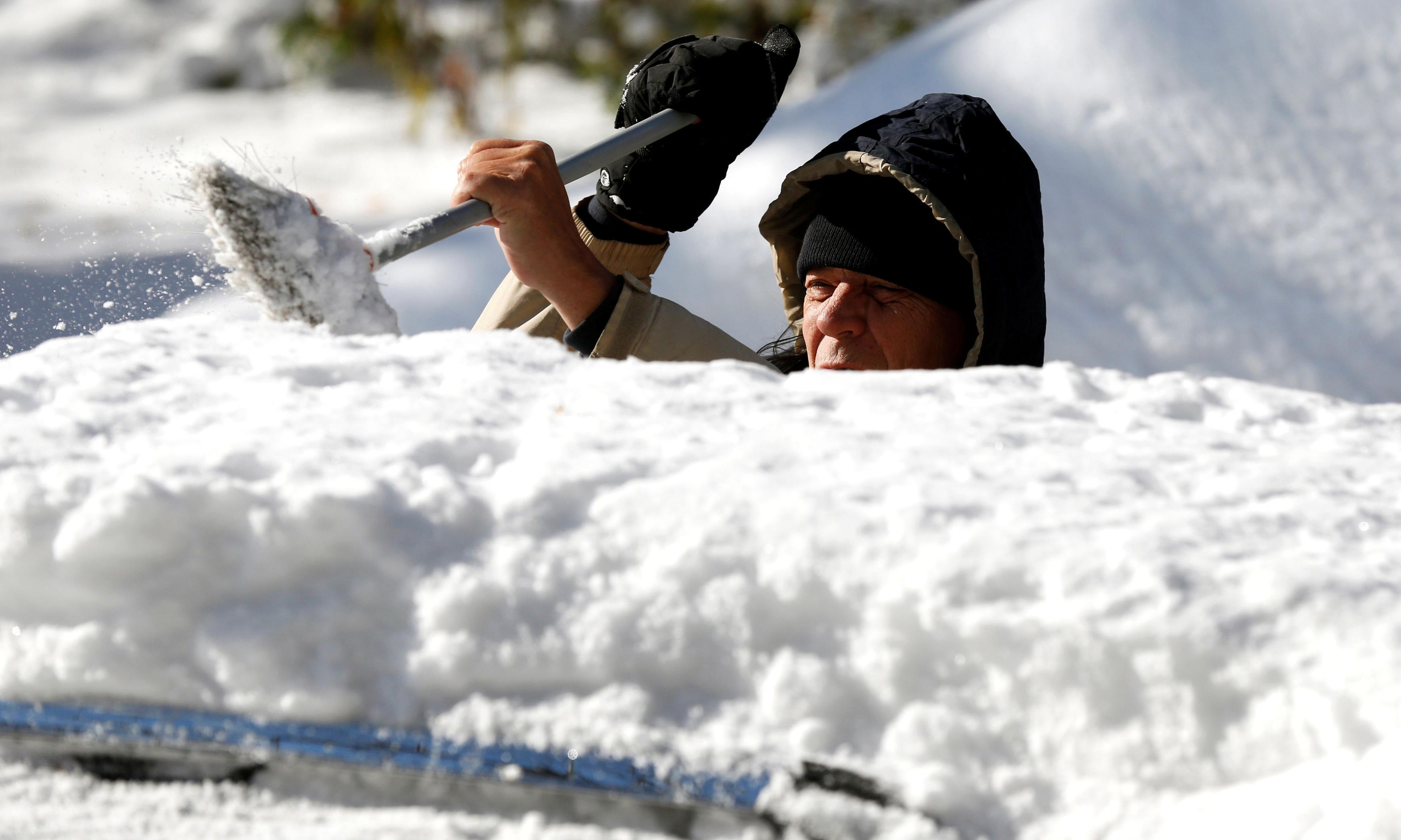 Arctic blast grips eastern US as cities reach record low temperatures